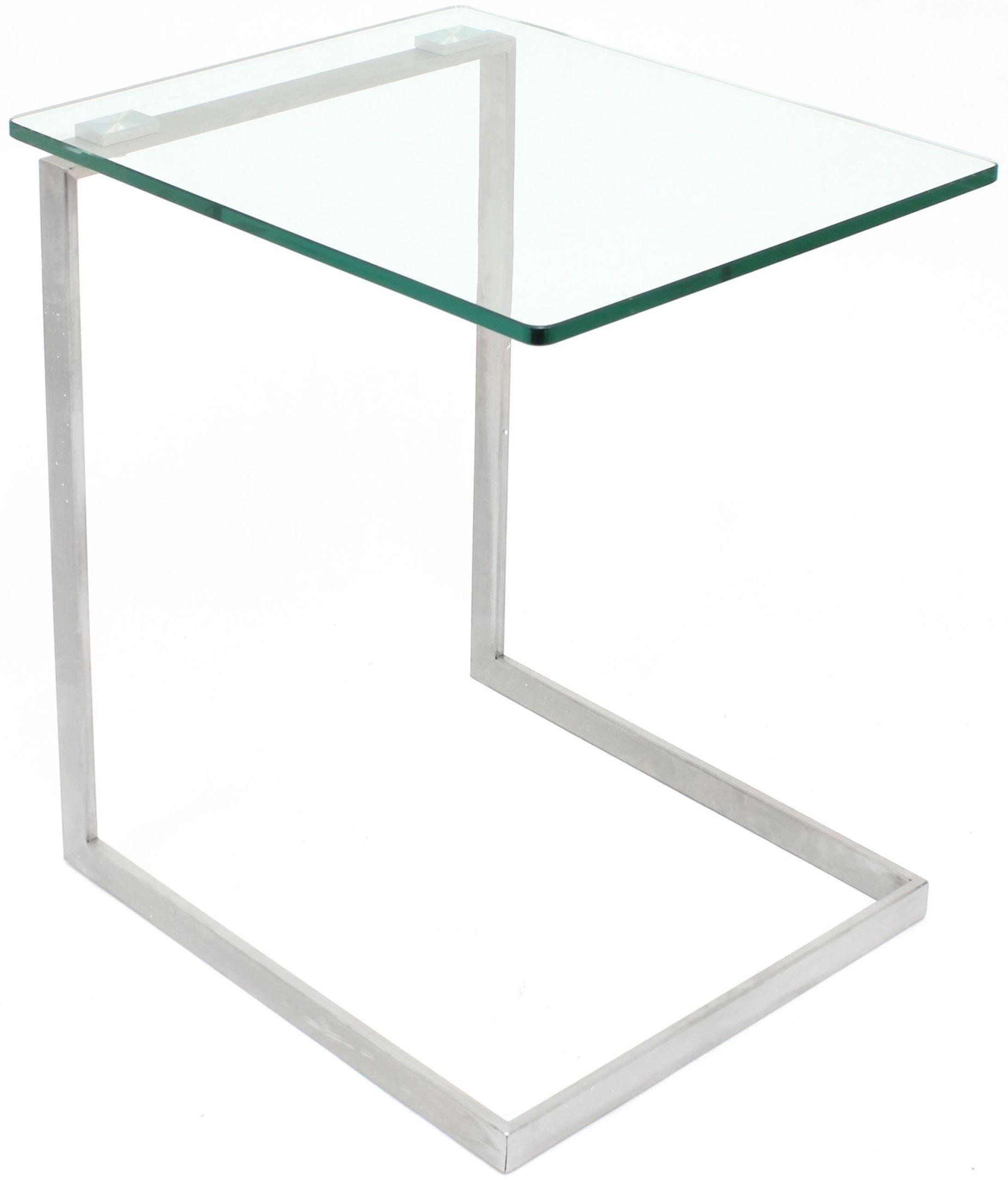 Zenn Glass End Table From Lumisource (TB-ZENN GLS
