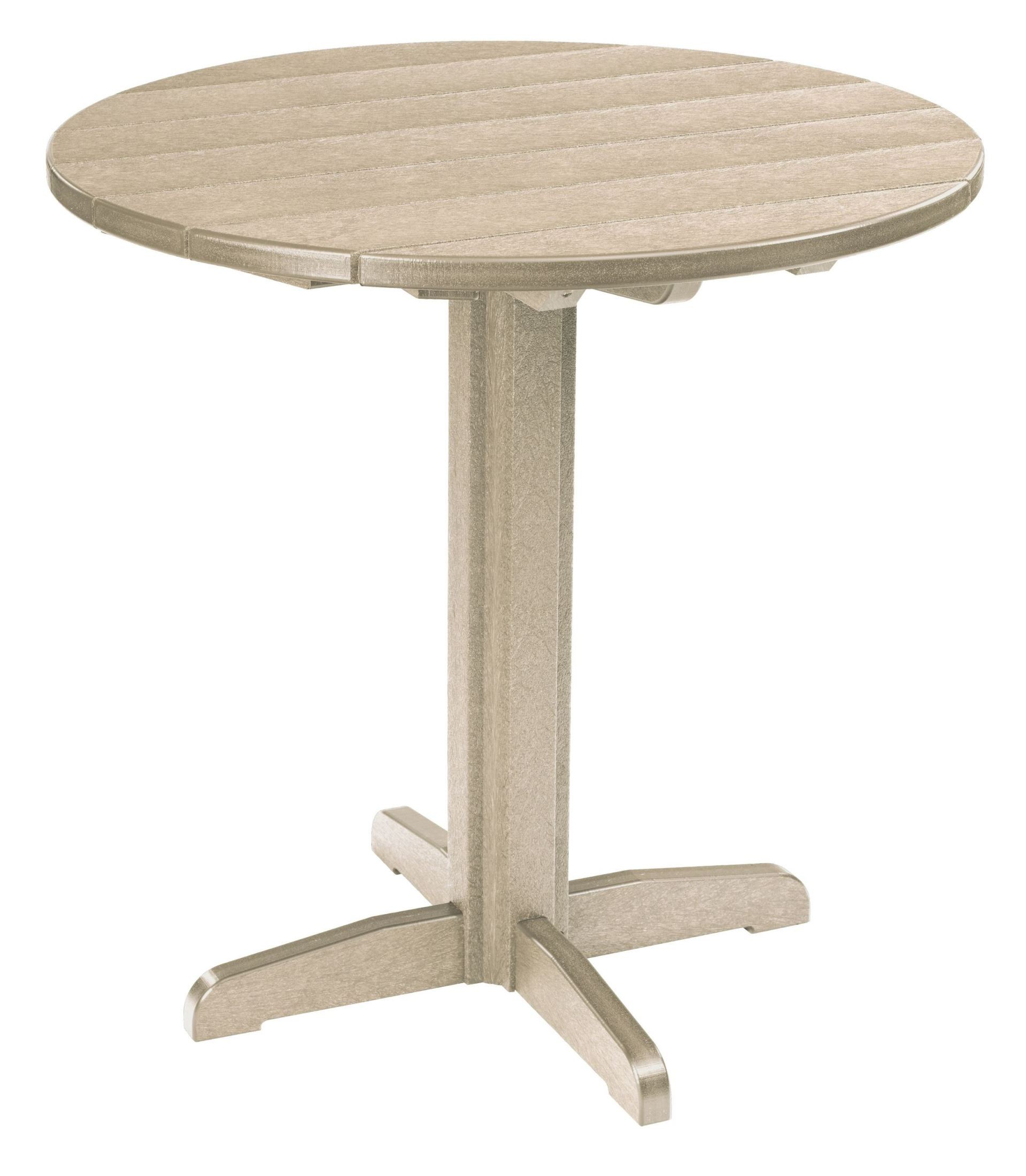 Generations Beige 37quot Round Pub Height Pedestal Table from  : tbt2307tb13tt02071 from colemanfurniture.com size 1919 x 2200 jpeg 334kB