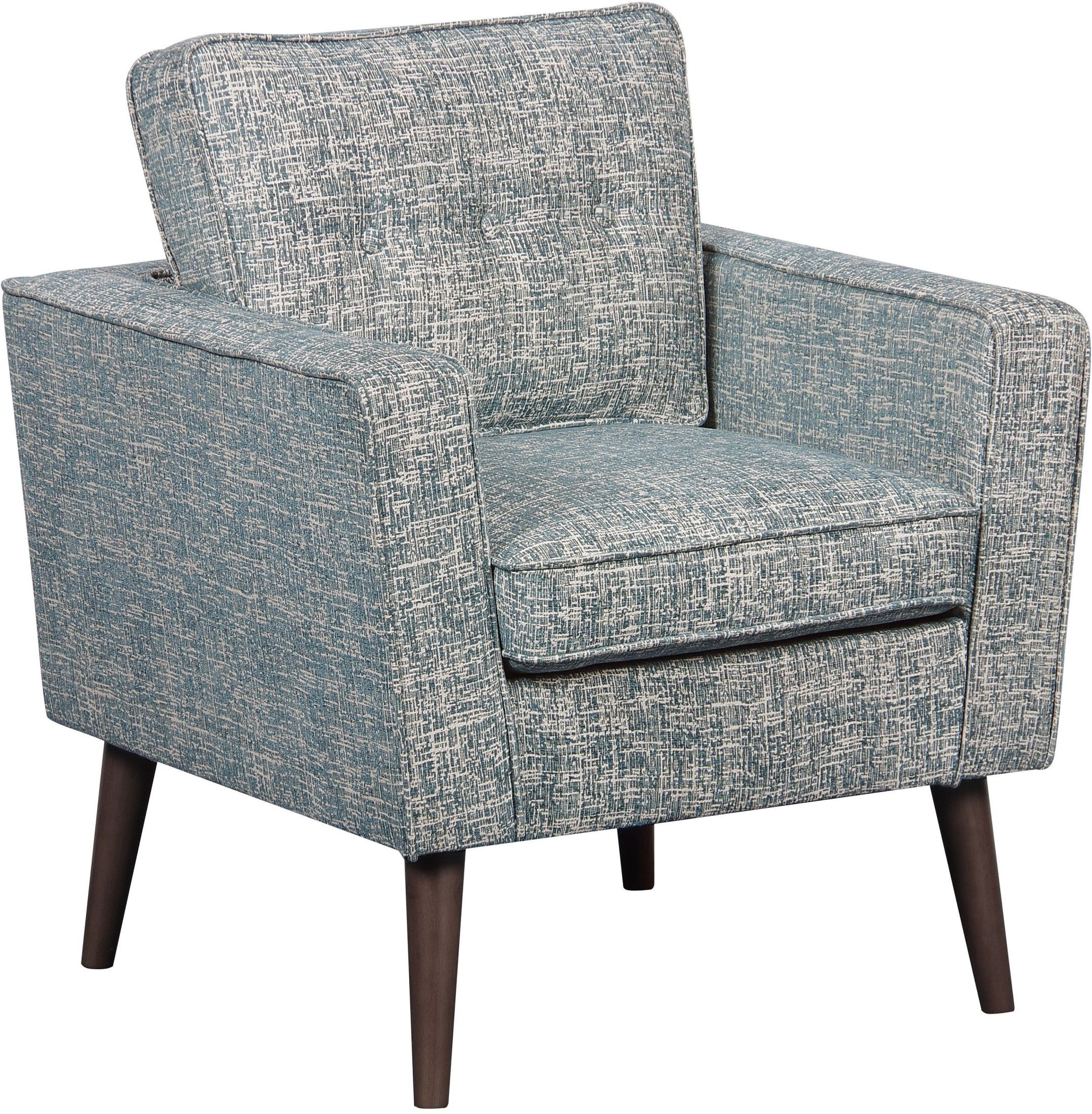 mid century modern lagoon textured accent chair from pulaski coleman furniture. Black Bedroom Furniture Sets. Home Design Ideas