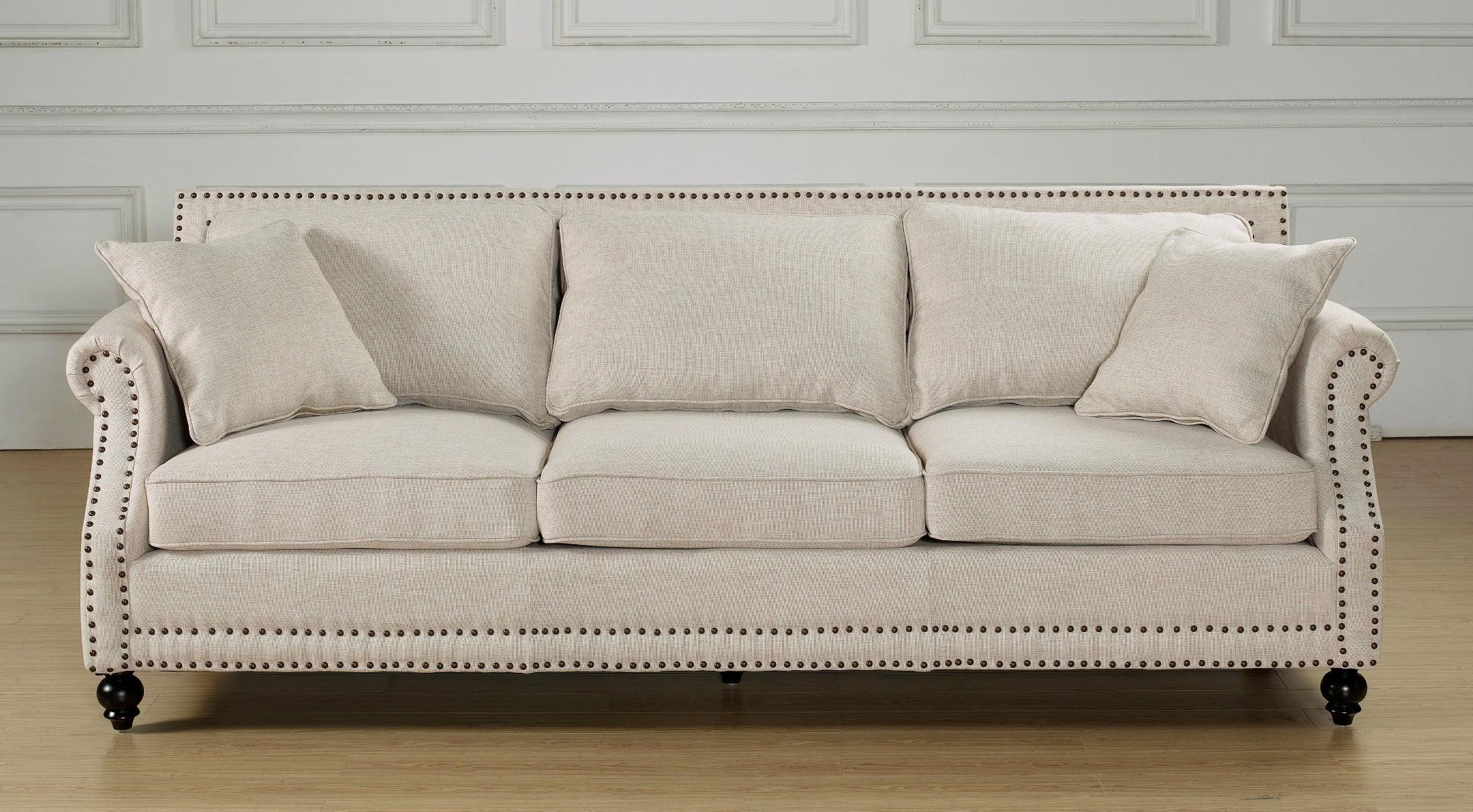 camden beige linen sofa from tov tov 63802 3 beige coleman furniture. Black Bedroom Furniture Sets. Home Design Ideas