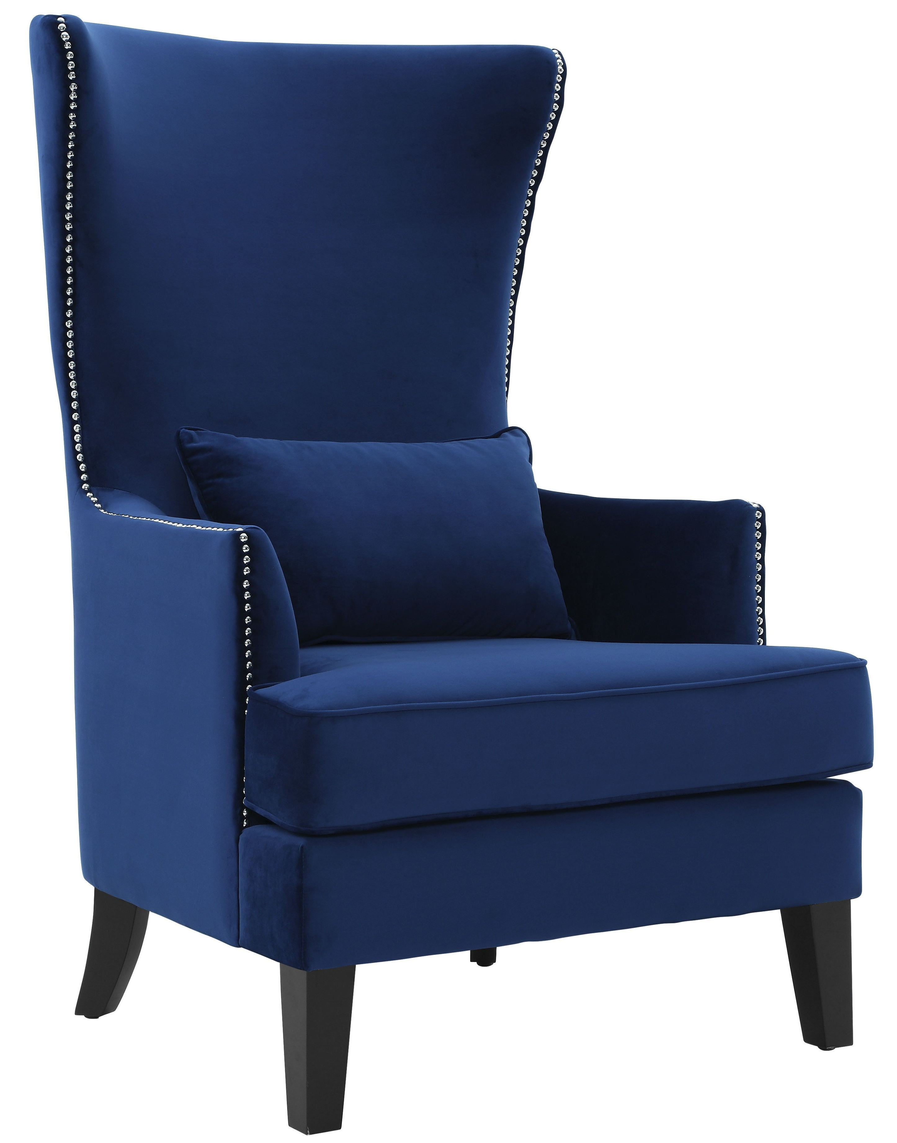 Bristol Navy Tall Chair From Tov Coleman Furniture