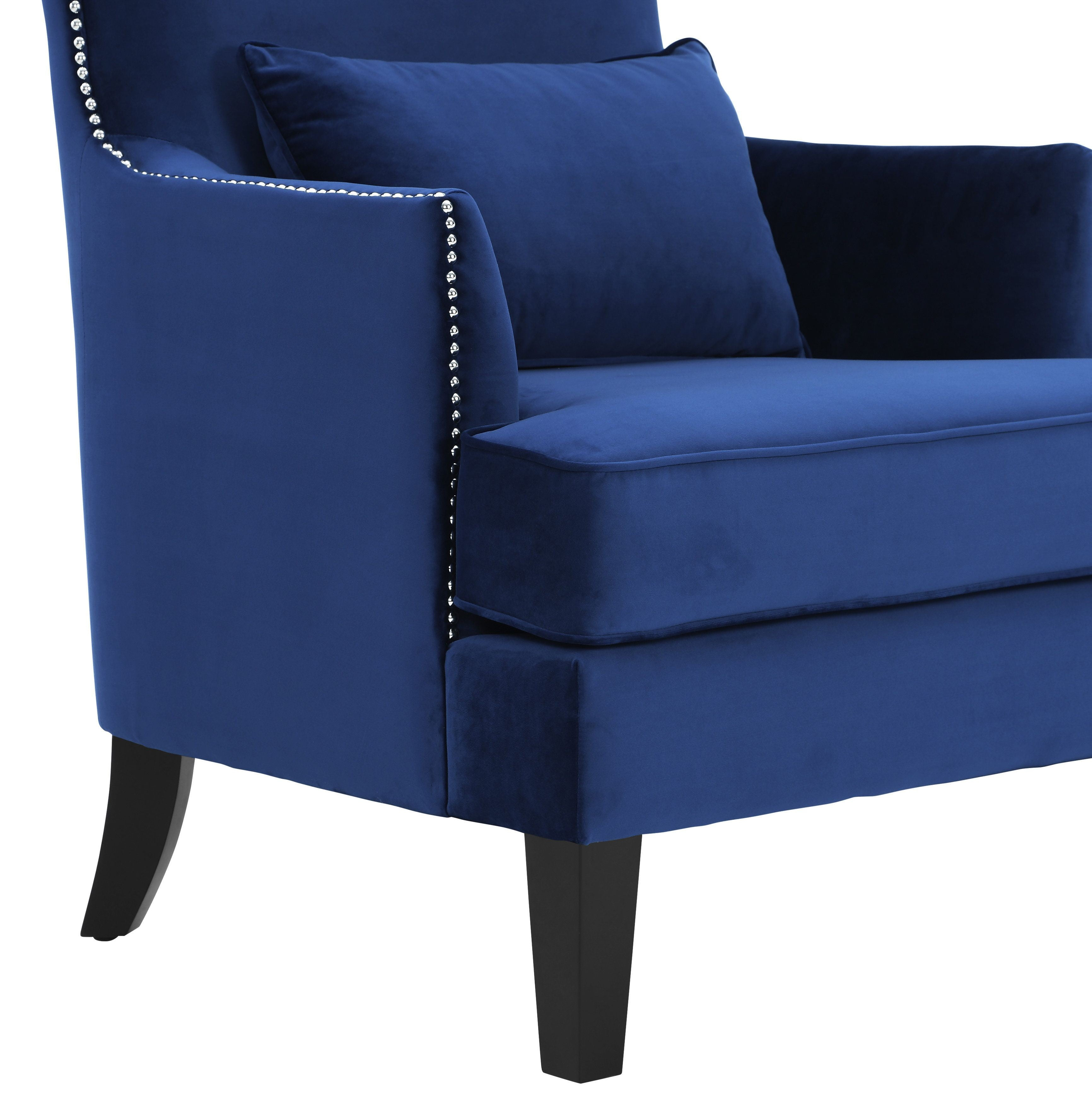Bristol Navy Tall Chair from TOV