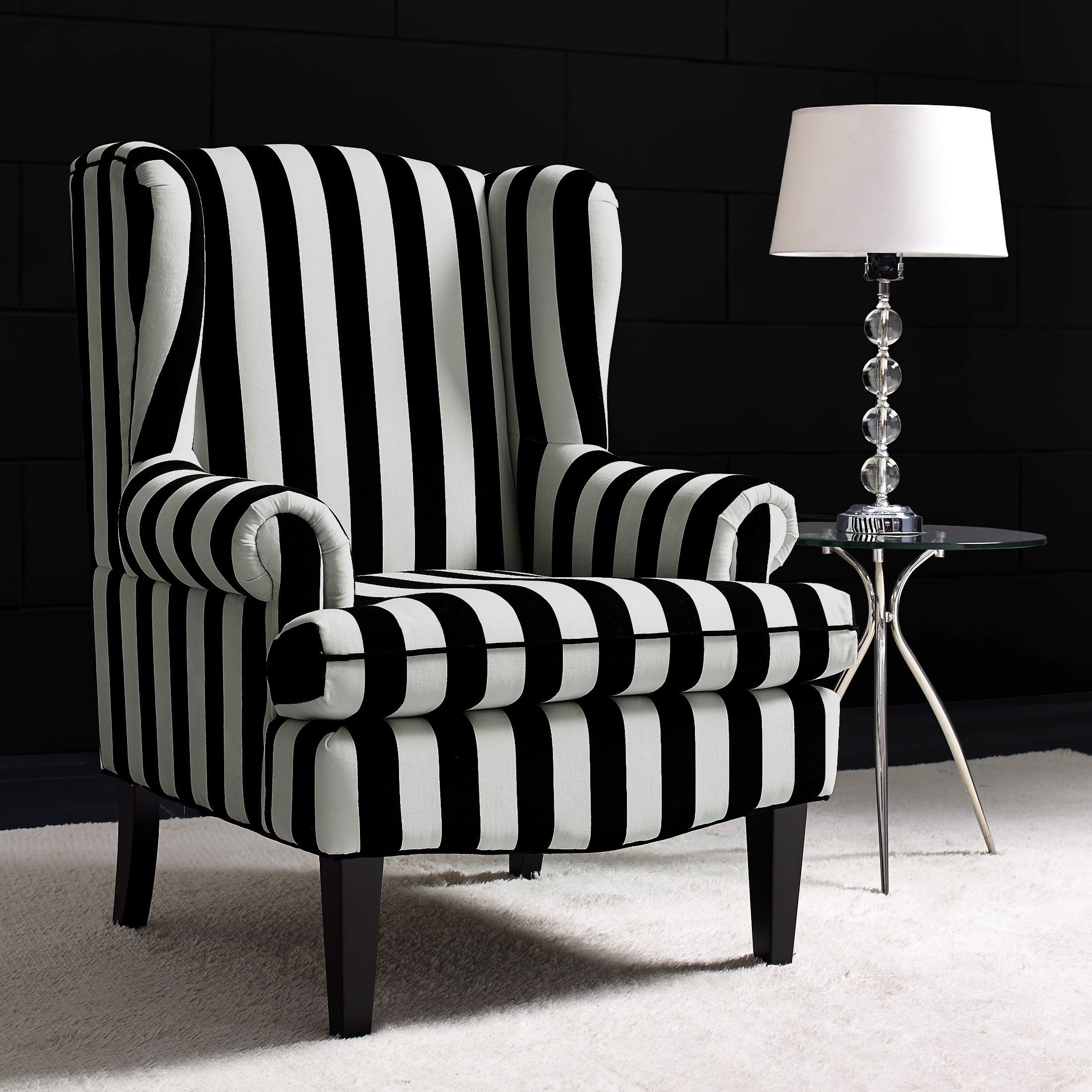 Paris Velvet Wingback Chair from TOV A61
