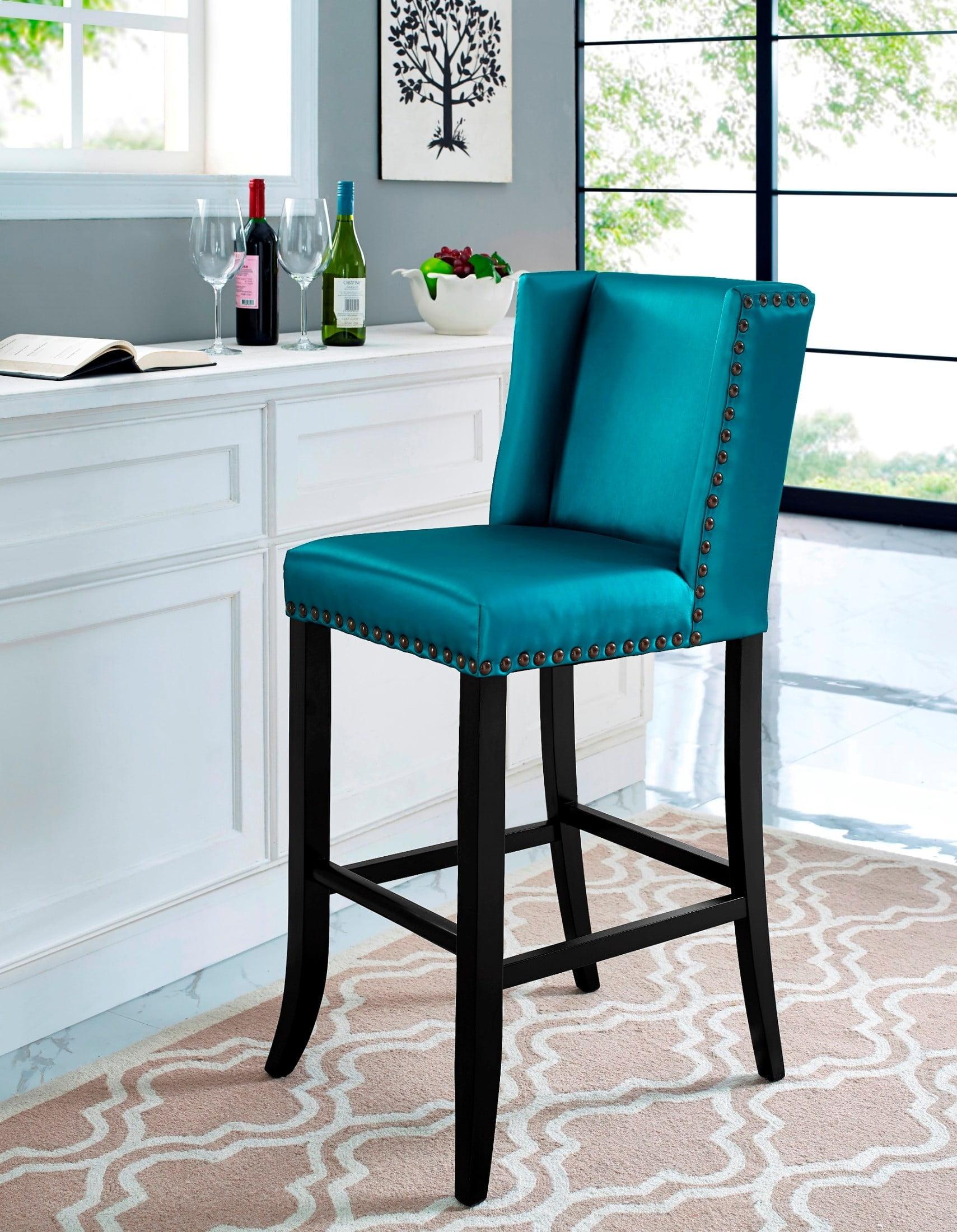 Denver Blue Bar Stool from TOV (BS13) | Coleman Furniture