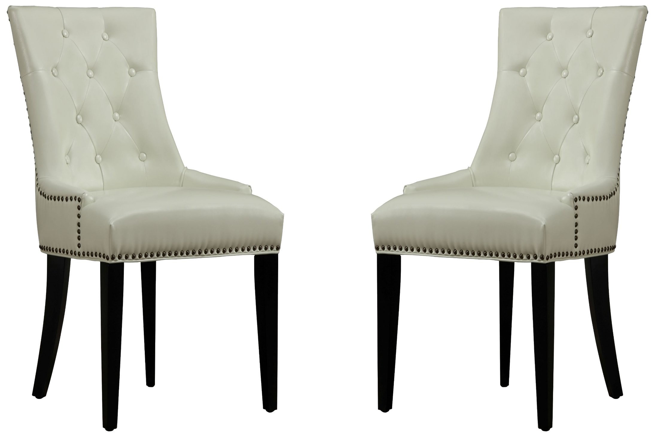 Uptown Cream Leather Dining Chair. 2306186. 2306187. 2306188. 2306189.  2306190