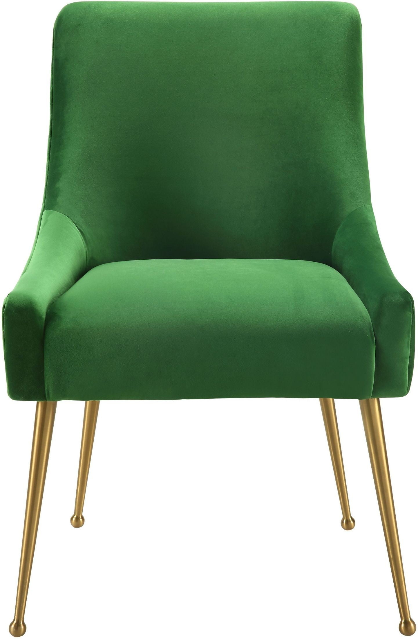 Beatrix Green Velvet Side Chair From Tov Coleman Furniture