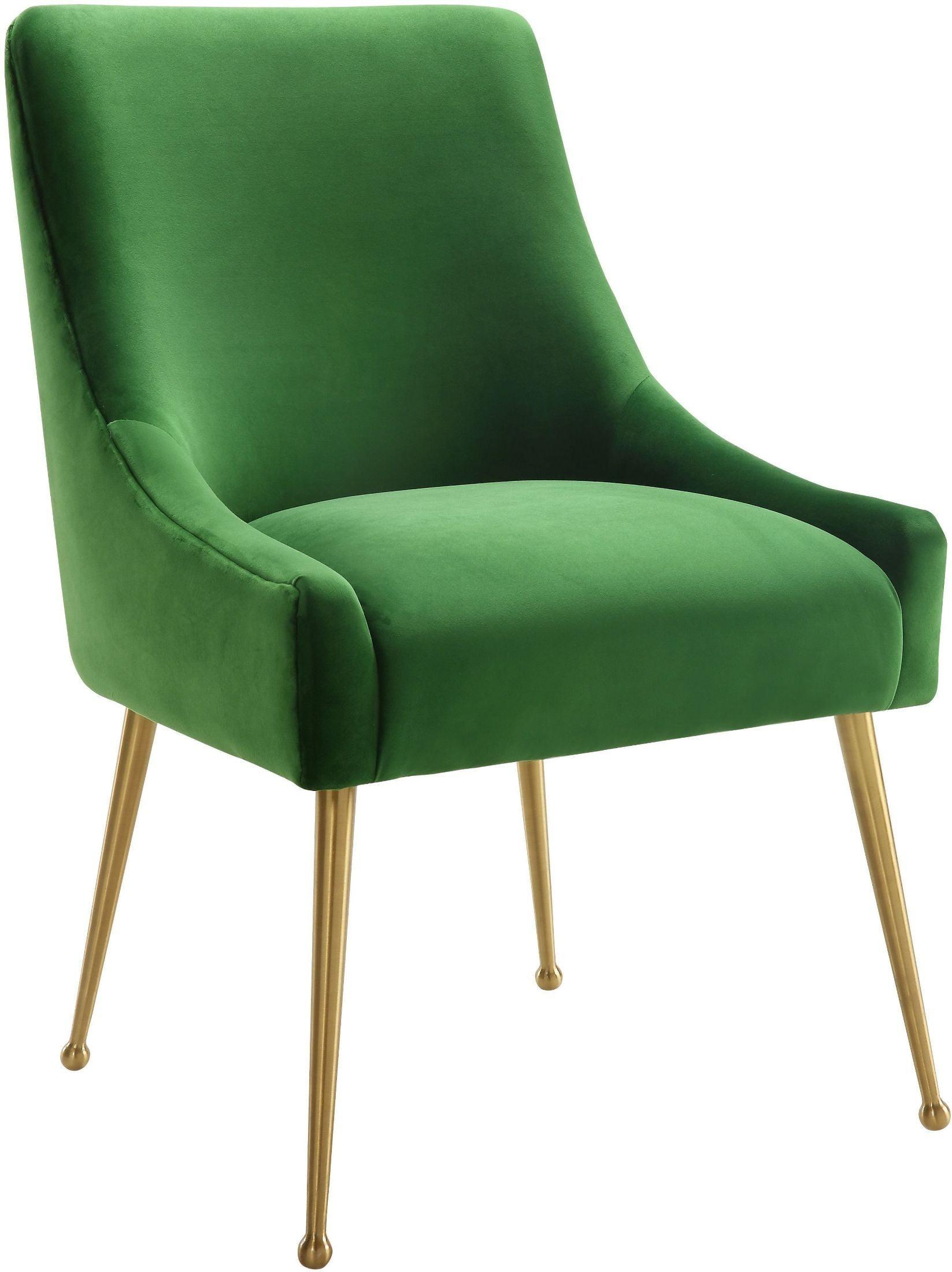 Beatrix Green Velvet Side Chair from TOV