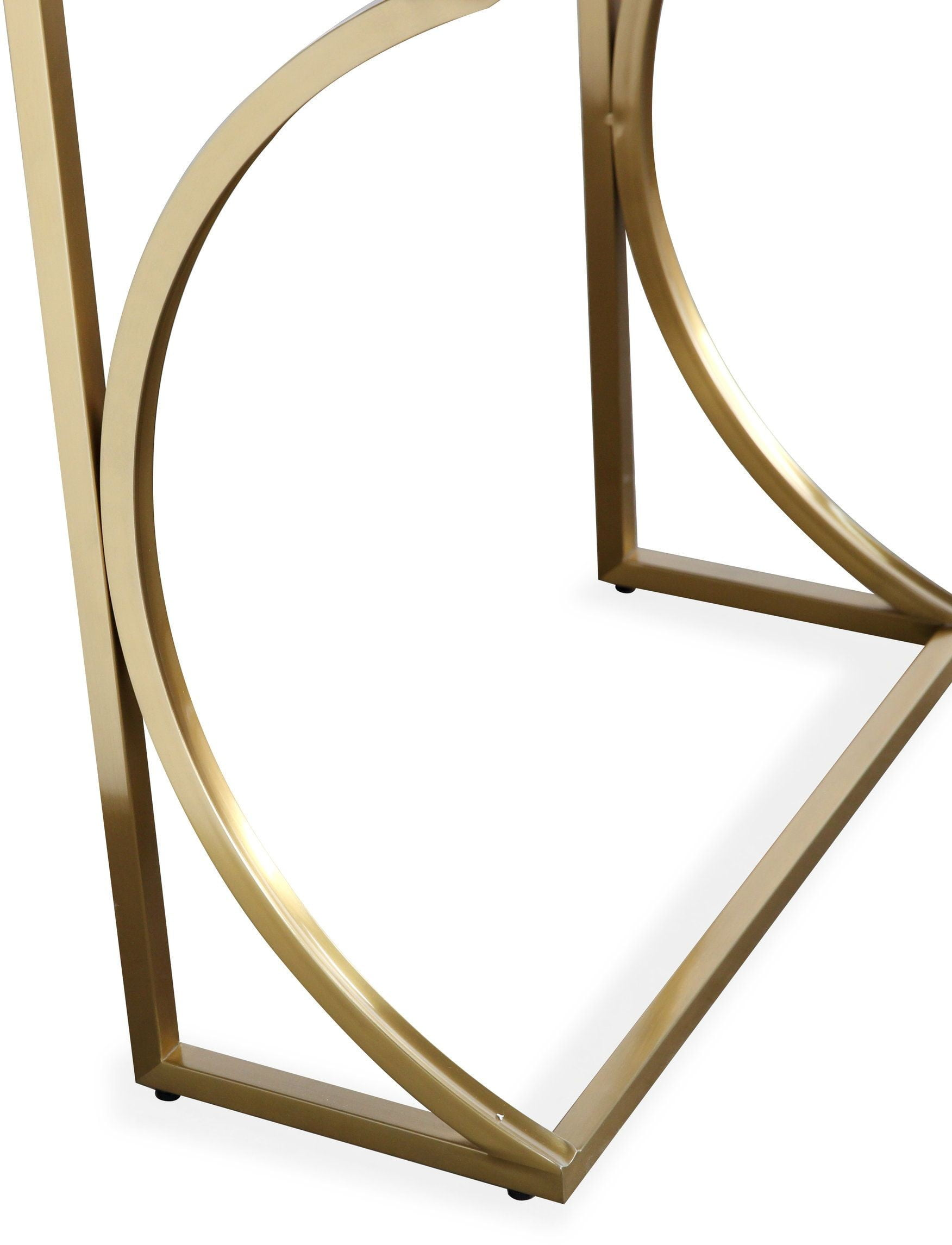 Lexie Gray and Gold Desk from TOV