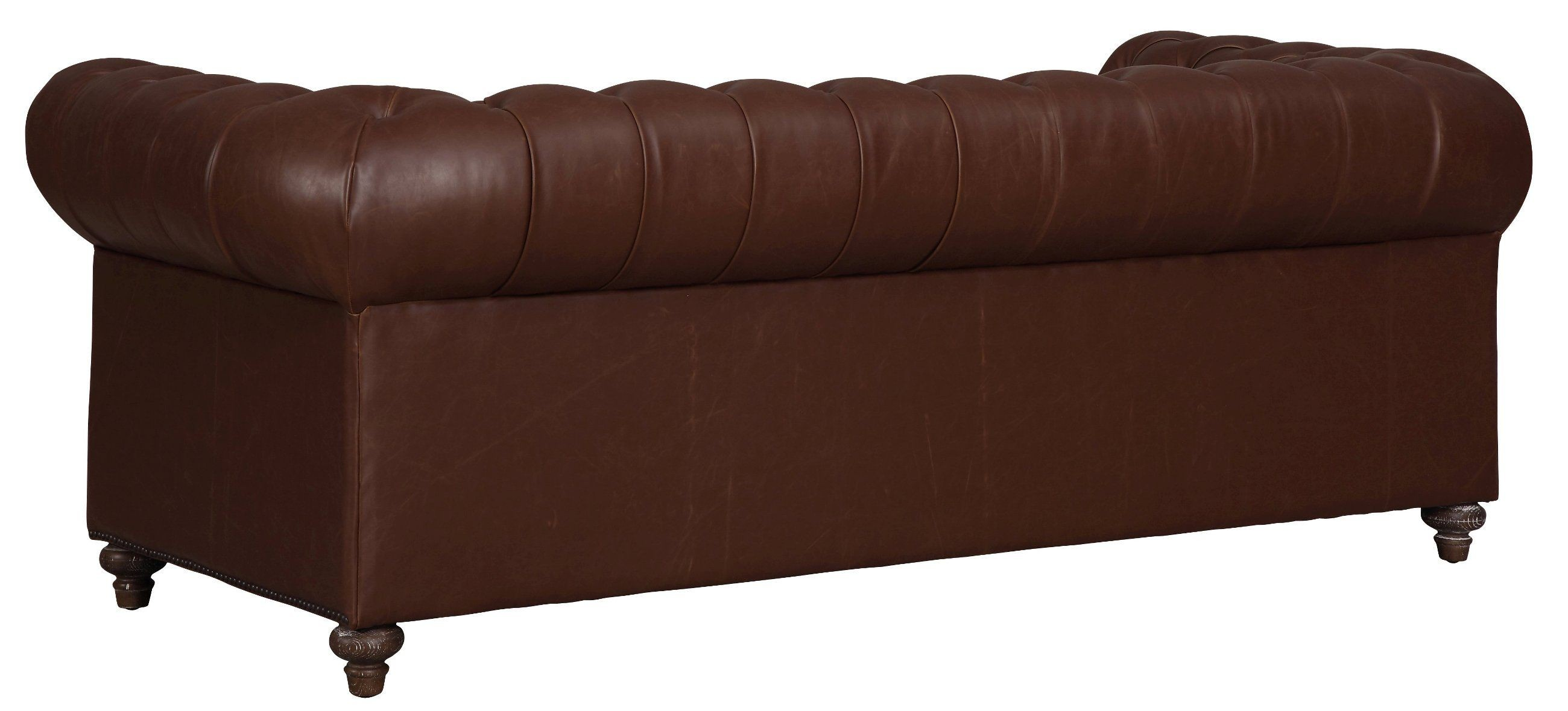 vintage leather sofas durango antique brown leather sofa from tov coleman 3238