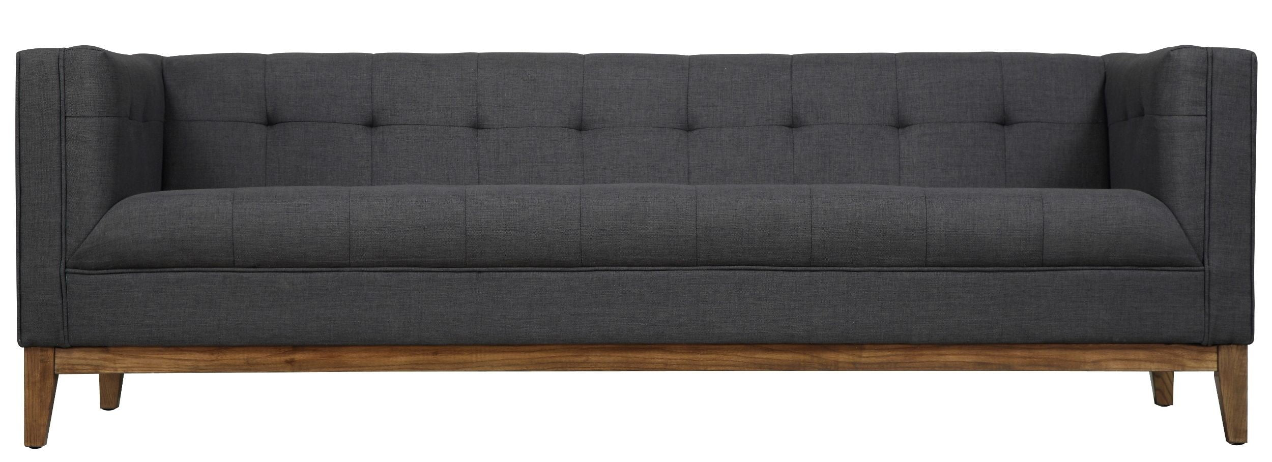 Gavin Gray Linen Sofa From TOV (S32) | Coleman Furniture
