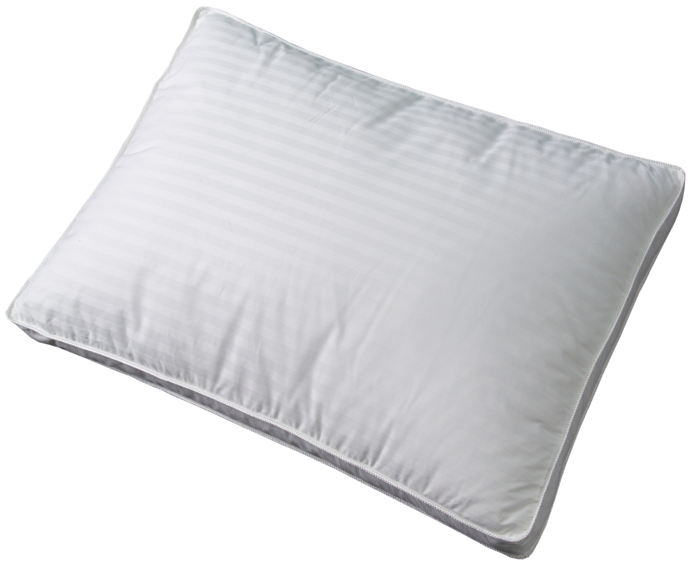 The pillowcase is generally about 4 inches longer than the pillow itself. A standard size pillow is 20 inches by 26 inches, and a queen size pillow is 20 by 30 inches. Both sizes fit in a standard-sized pillowcase. A king size pillow is 20 inches by 30 inches and fits in a king size pillowcase.