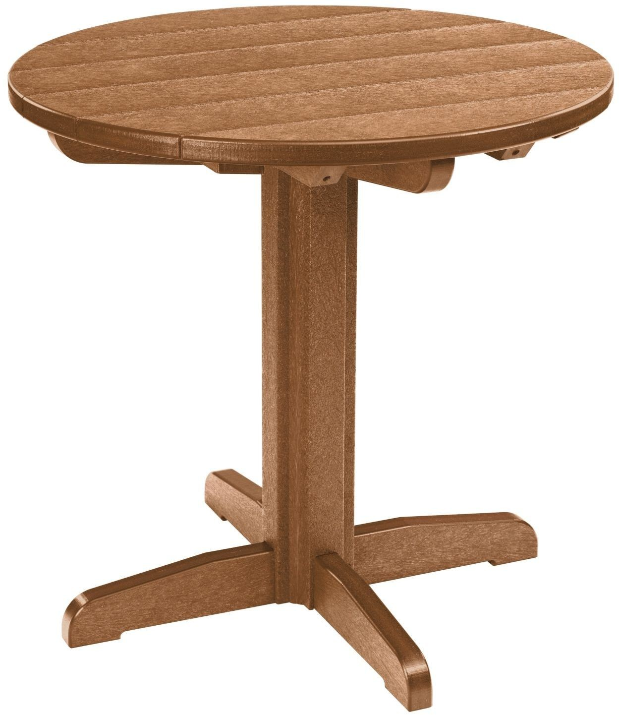 Generations Cedar 32 Quot Round Pub Height Table From Cr