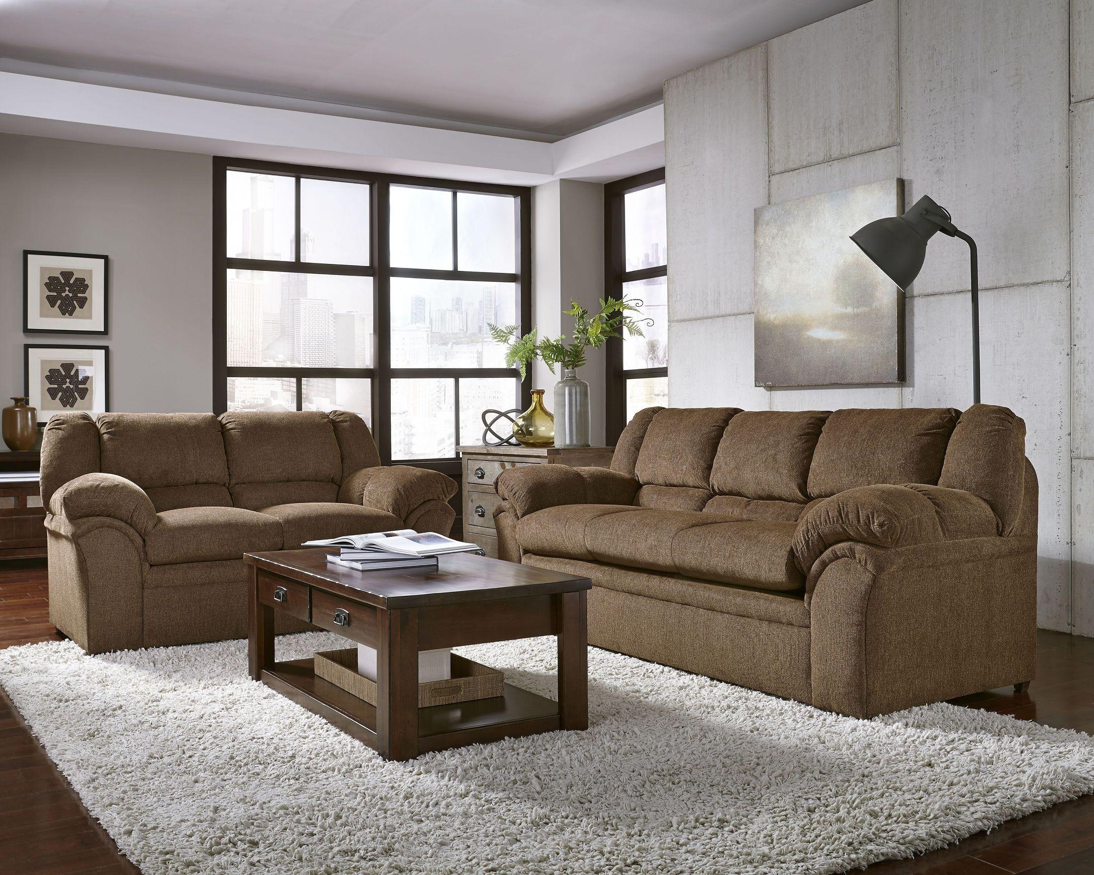 Big Ben Chocolate Living Room Set from Progressive Furniture ...