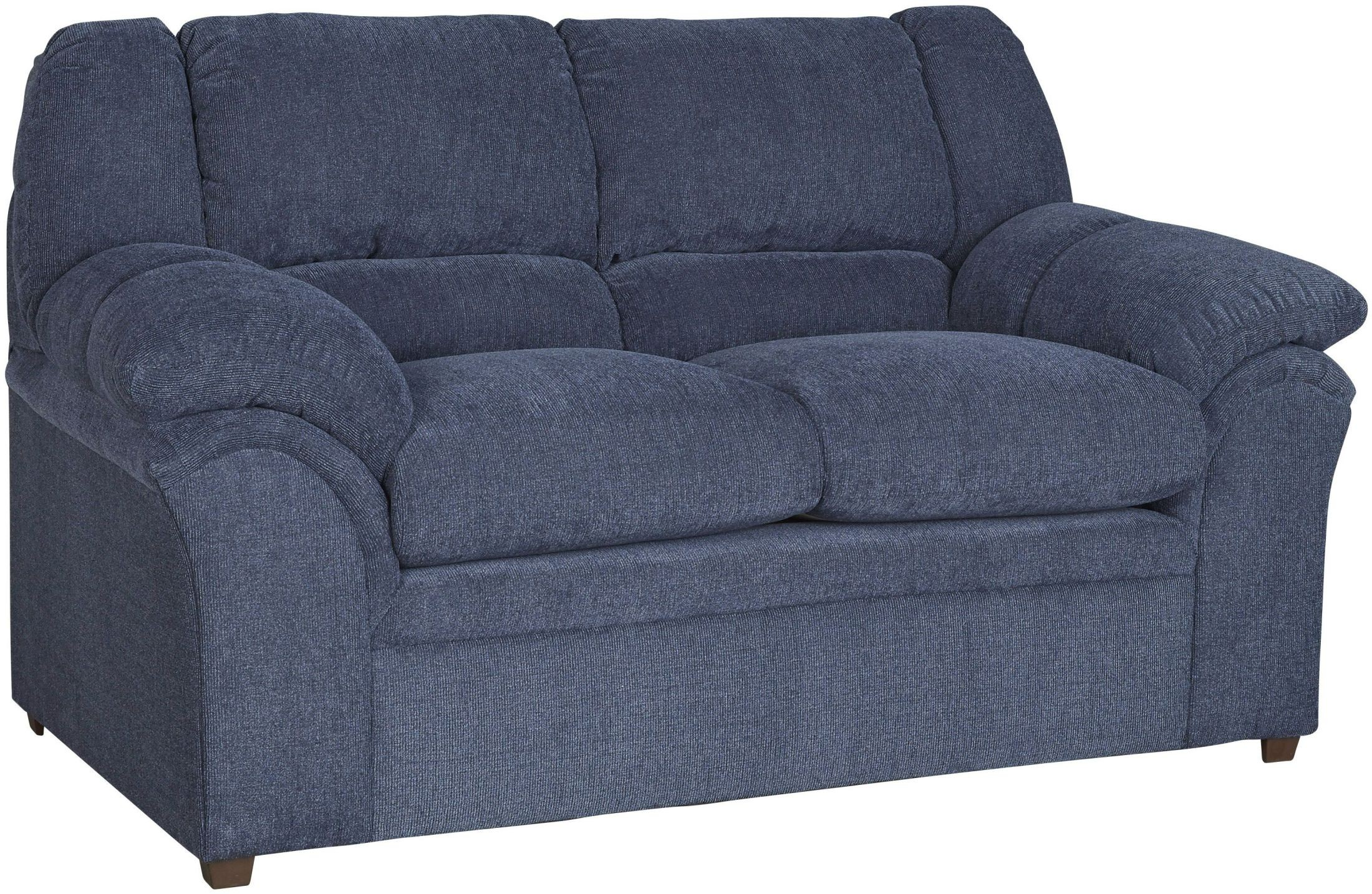 big ben indigo loveseat from progressive furniture