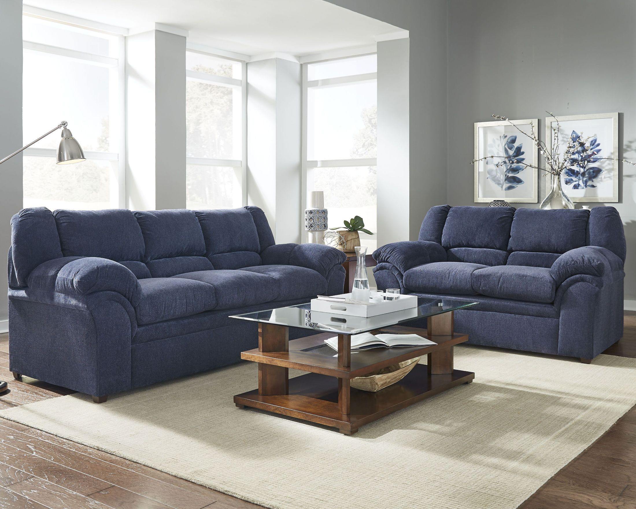 big ben indigo living room set from progressive furniture