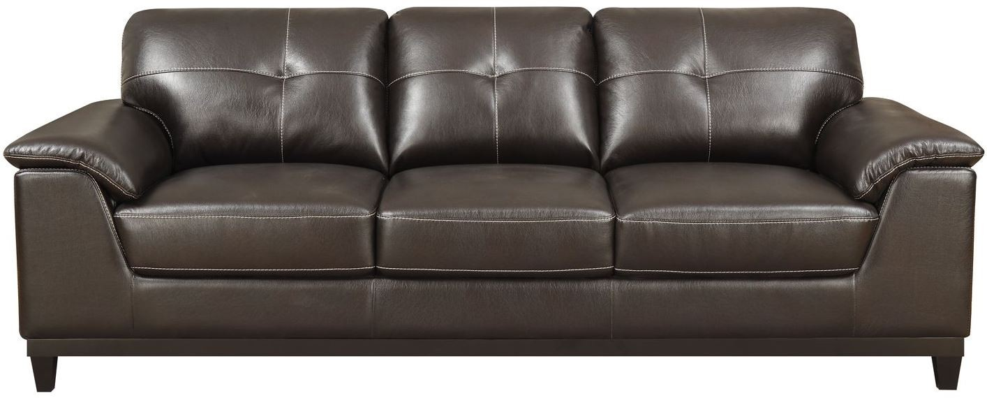 Marquis Walnut Brown Sofa From Emerald Home Coleman
