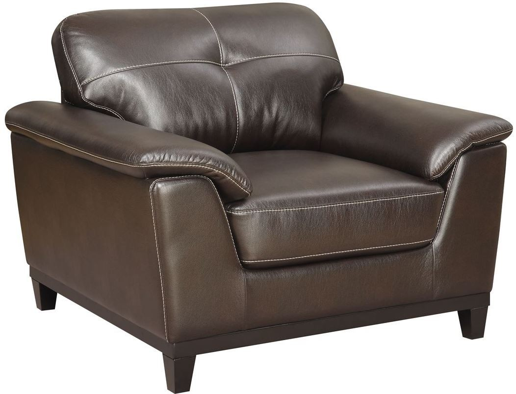 Marquis Walnut Brown Chair From Emerald Home Coleman