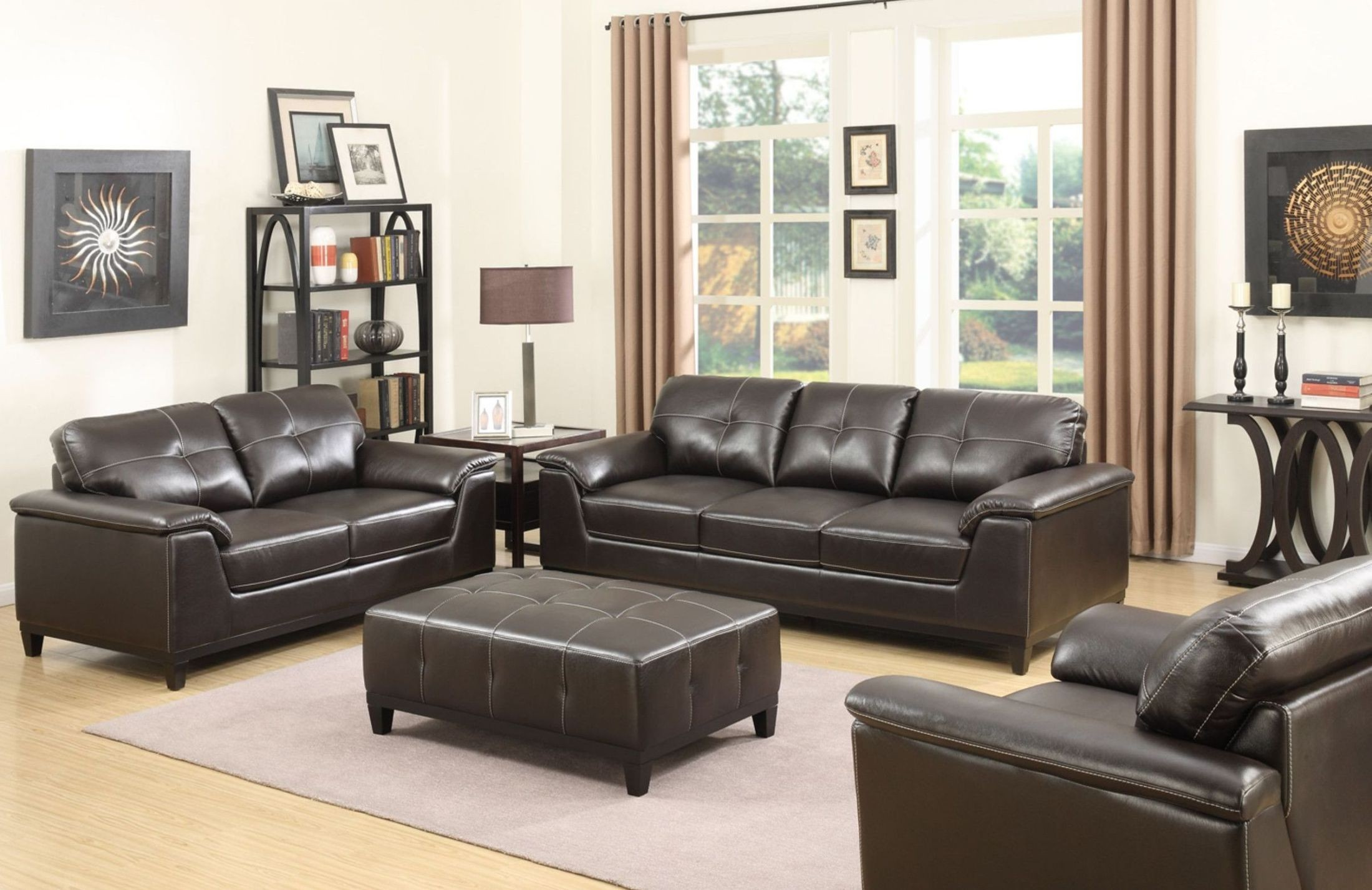 Marquis Walnut Living Room Set From Emerald Home Coleman Furniture