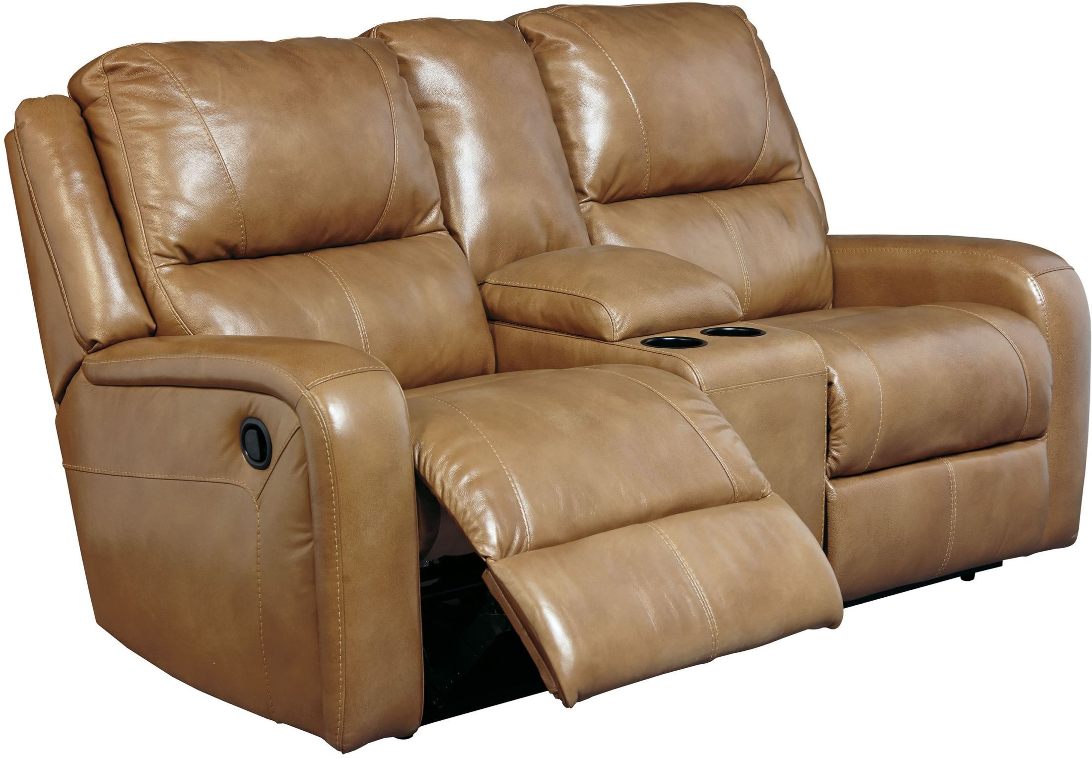 Roogan Blondie Double Power Reclining Console Loveseat From Ashley Coleman Furniture