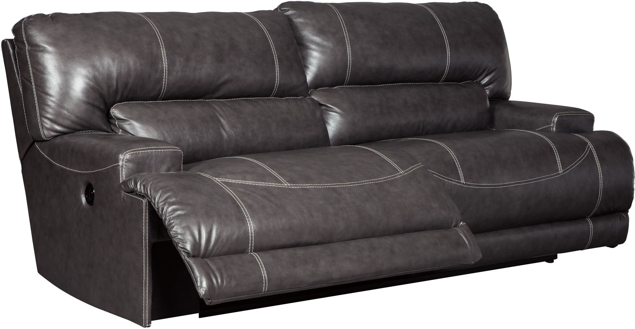 Mccaskill Gray 2 Seat Power Reclining Sofa From Ashley