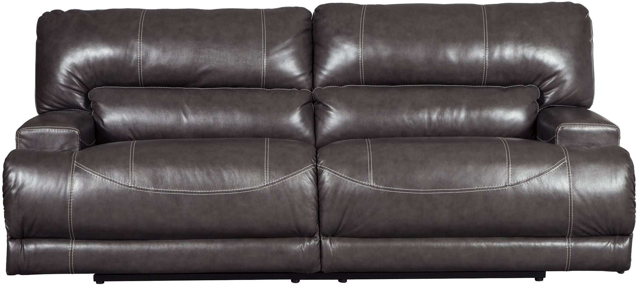 Pleasing Mccaskill Gray 2 Seat Power Reclining Sofa Pabps2019 Chair Design Images Pabps2019Com