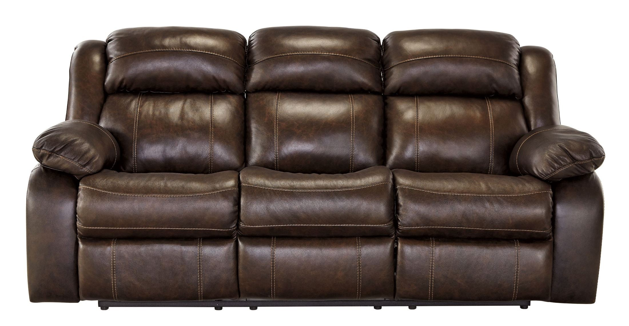 Branton Antique Power Reclining Sofa from Ashley U