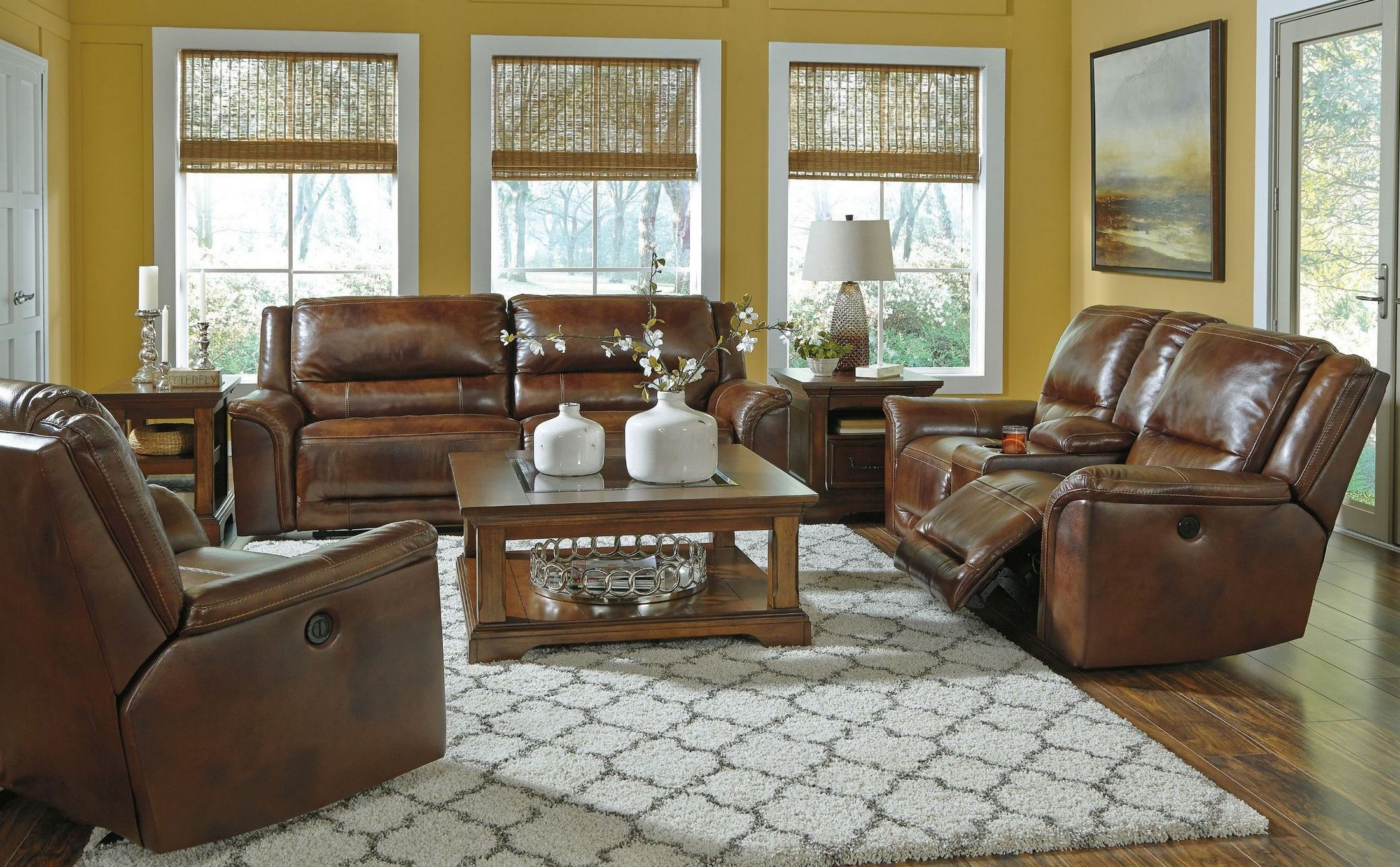 Jayron Harness Reclining Living Room Set From Ashley