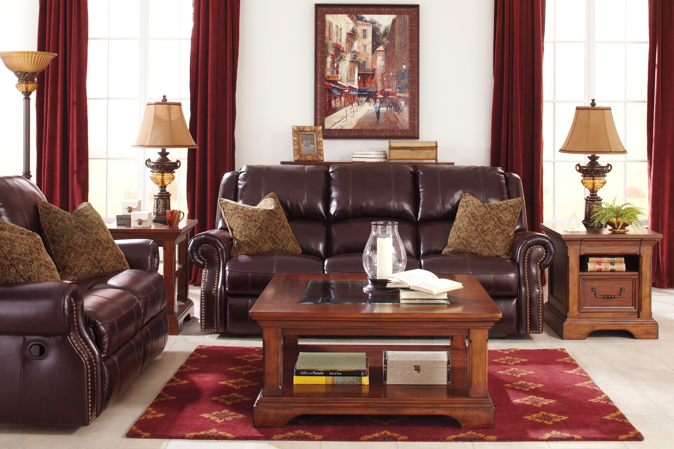 Walworth Blackcherry Power Reclining Living Room Set   Old vs New   Buying  Furniture Online   479469   479467Walworth Blackcherry Power Reclining Living Room Set from Ashley  . Power Recliner Living Room Sets. Home Design Ideas