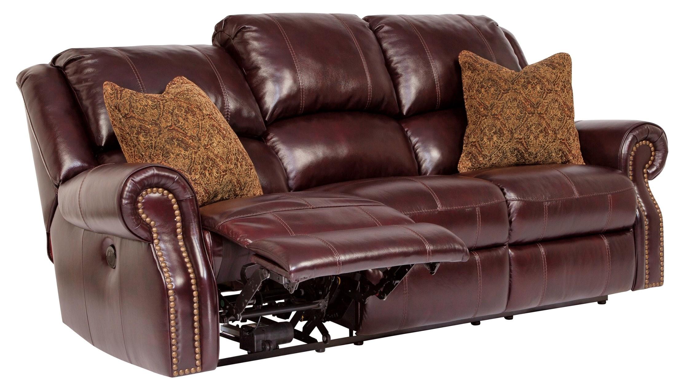 Walworth Blackcherry Reclining Sofa From Ashley U7800288