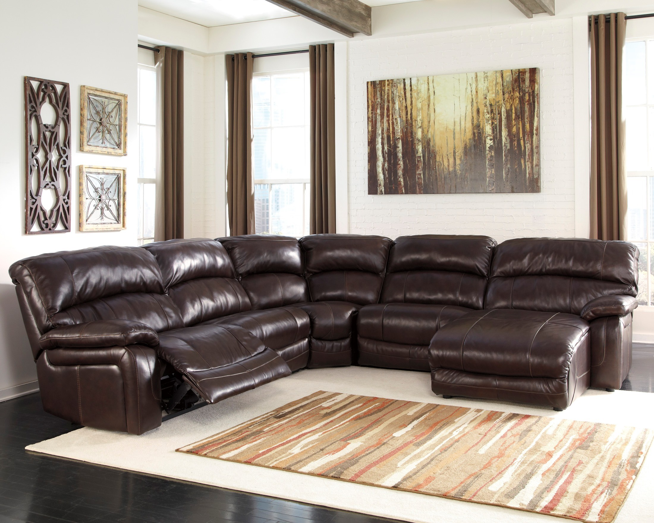 ... Power Reclining Sectional 422542. 422544 & Damacio Dark Brown RAF Power Reclining Sectional from Ashley ... islam-shia.org