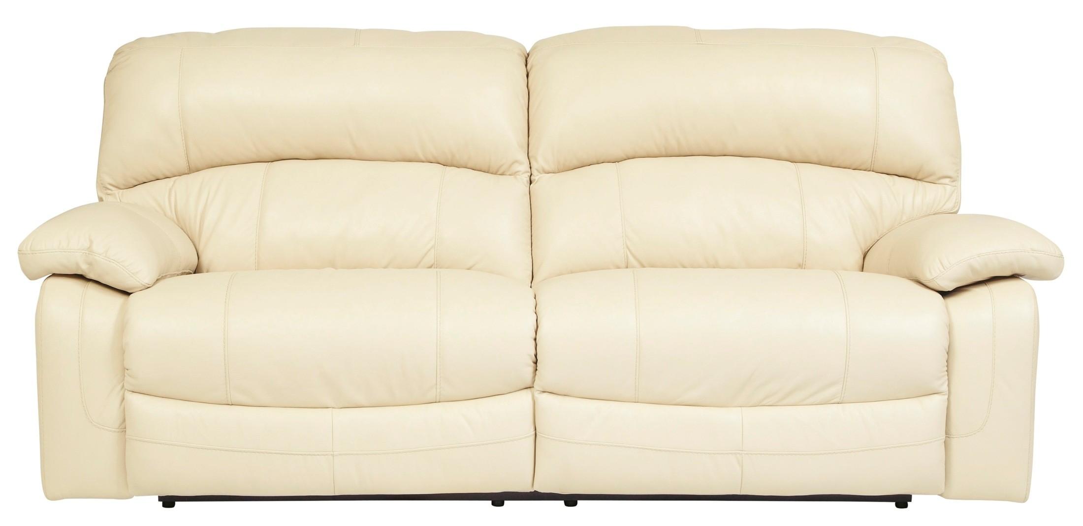 Damacio Cream 2 Seat Reclining Sofa From Ashley U9820181