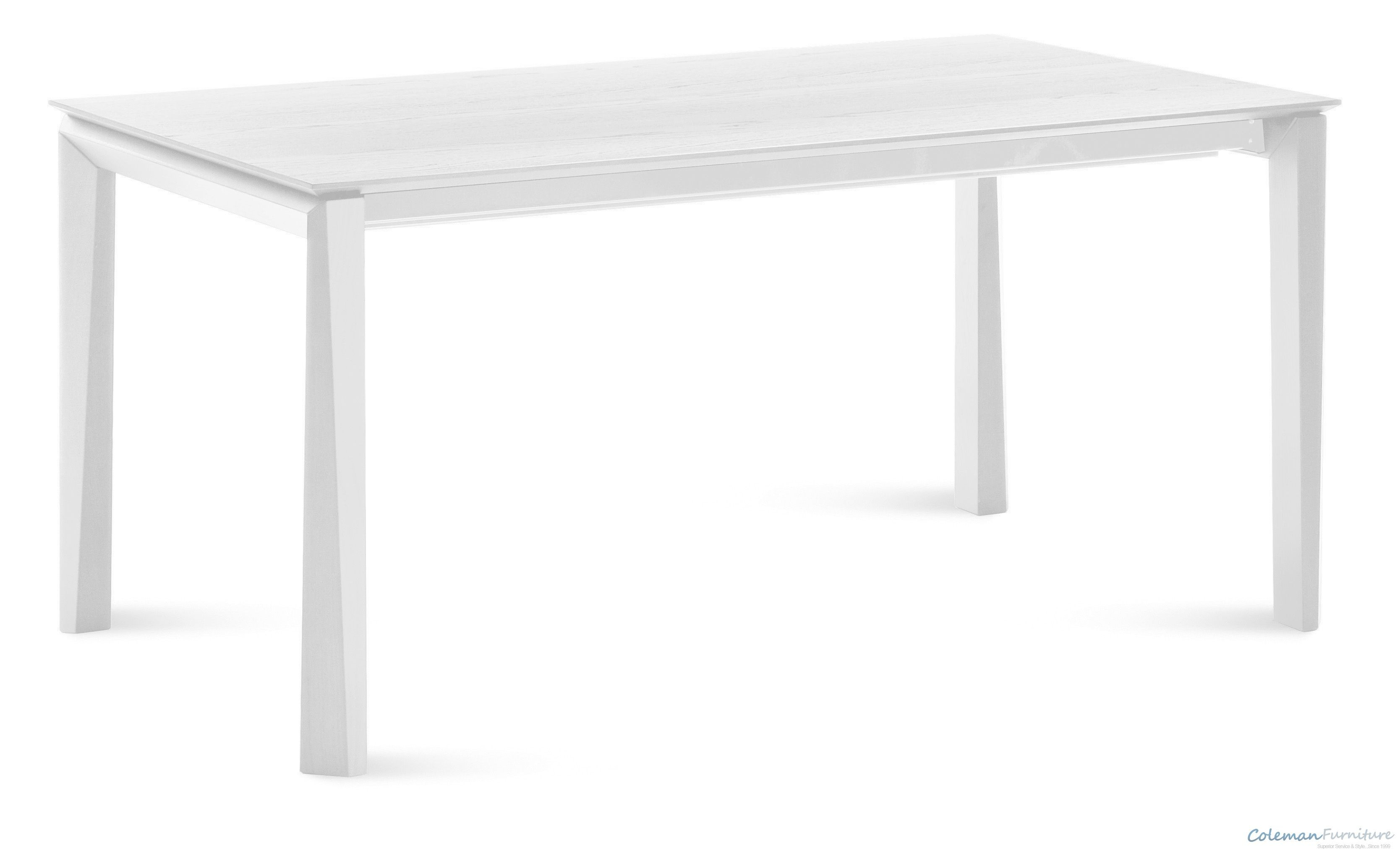 Universe white 111 inch rectangular table from domitalia for Table 6 in as 3725