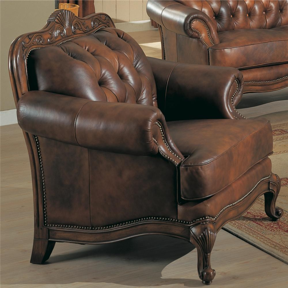 Victoria Living Room Set  From Coaster  Coleman - Victorian living room set