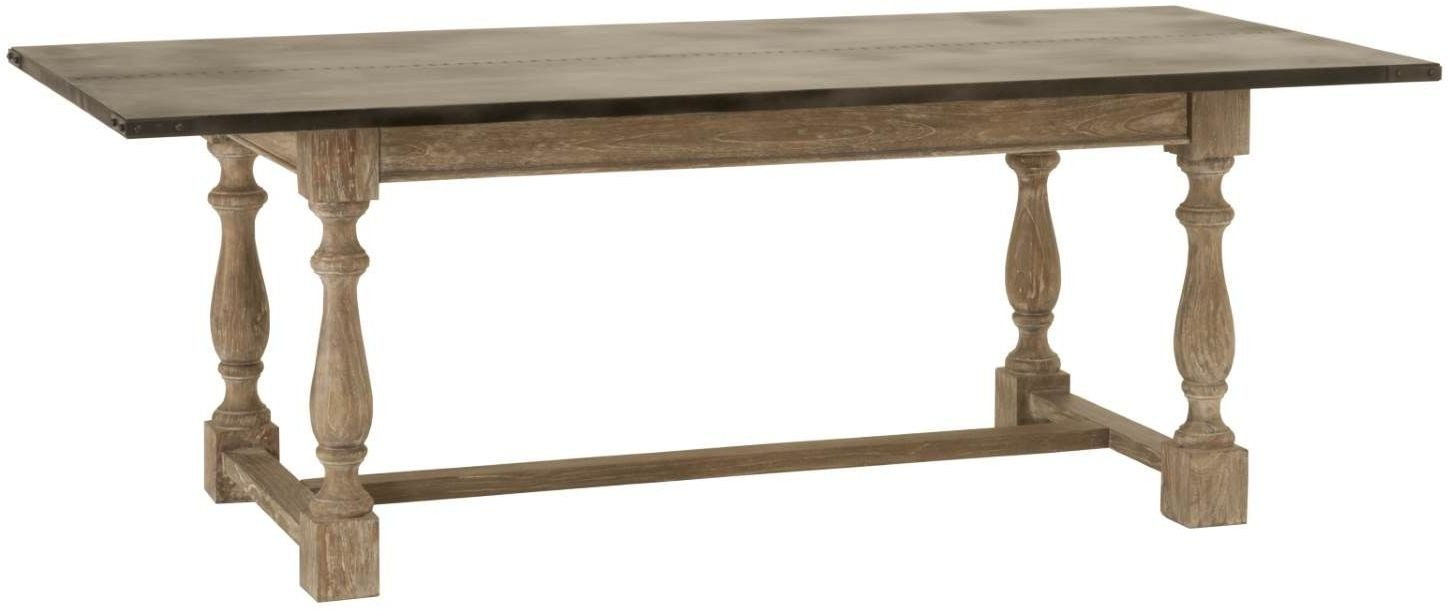 Ville drift grey dining table from orient express for Furniture ville