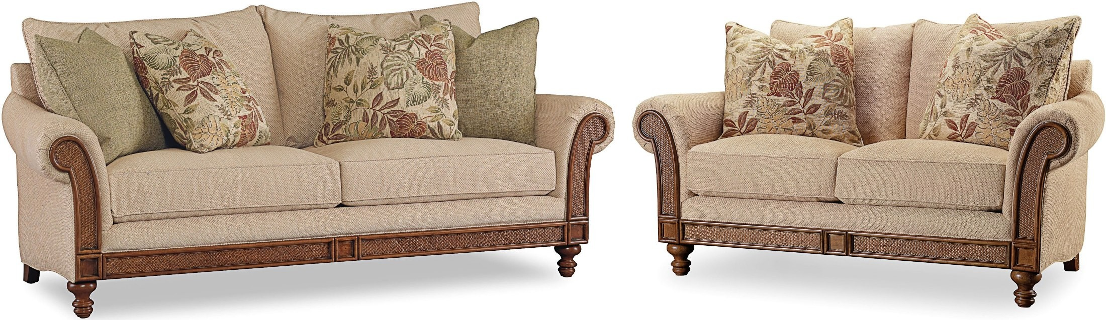 Windward Cherry Living Room Set From Hooker Coleman Furniture