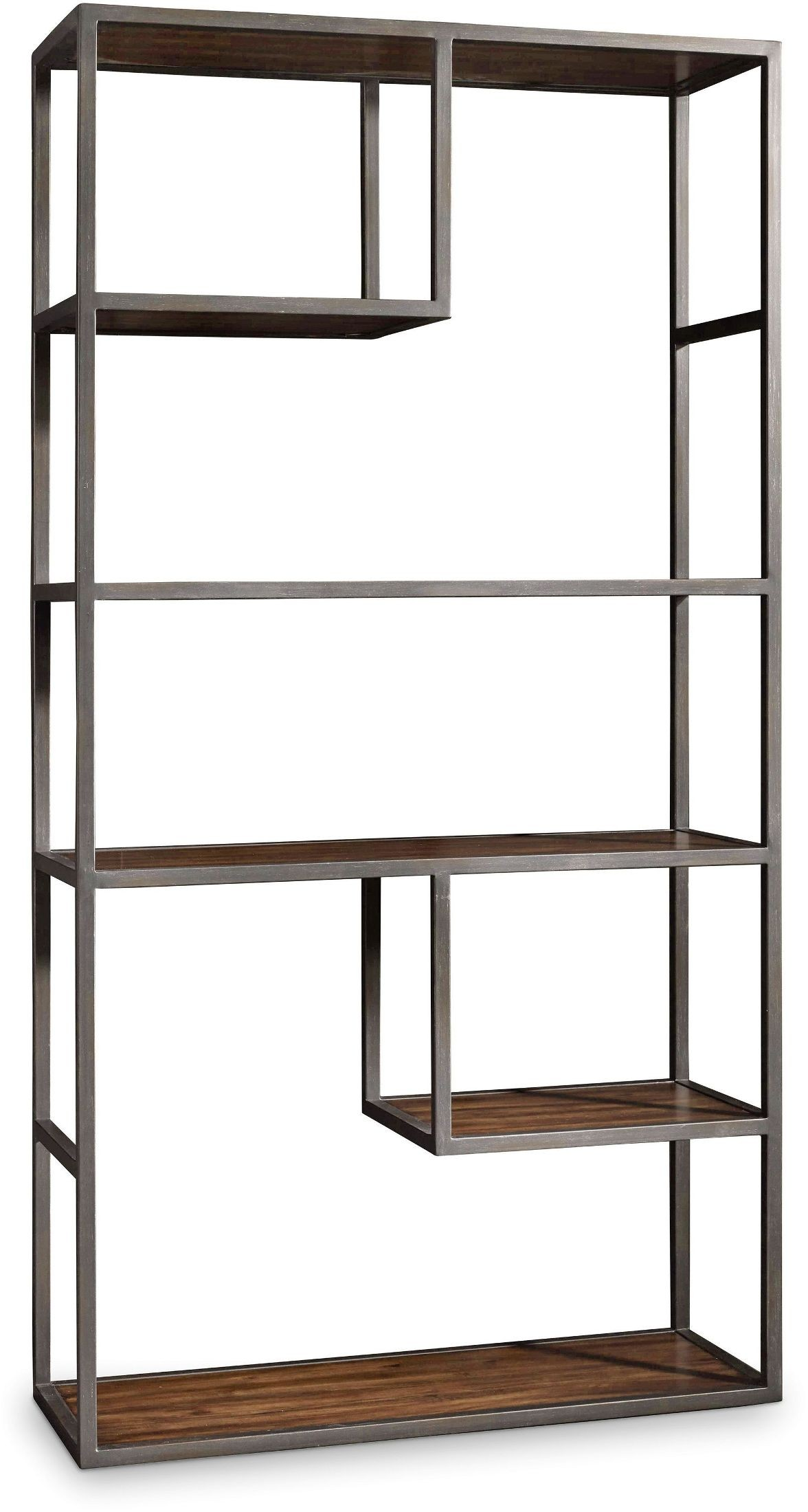 Chadwick dark wood bunching bookcase from hooker coleman for Dark wood furniture