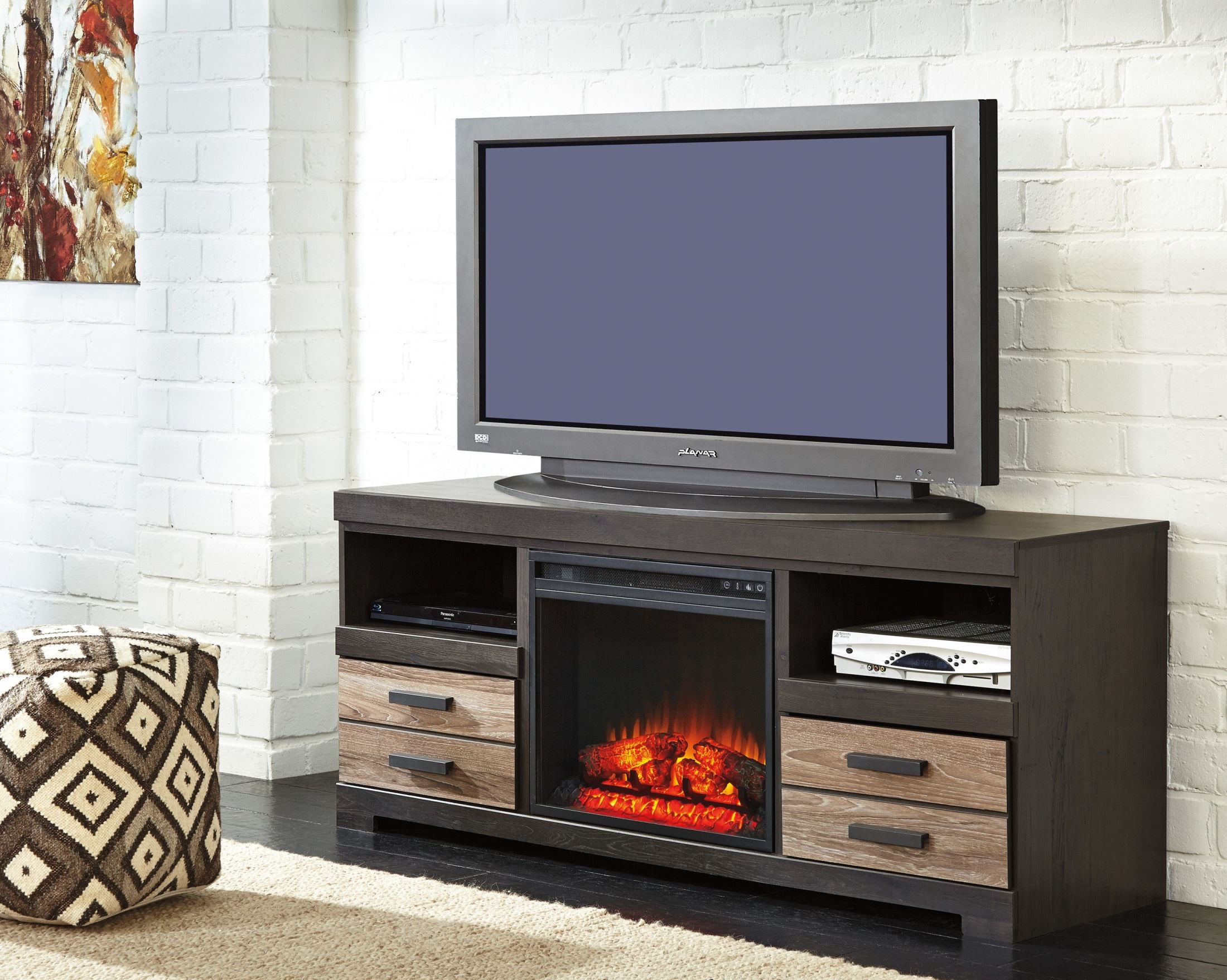 harlinton lg tv stand from ashley w325 68 coleman furniture