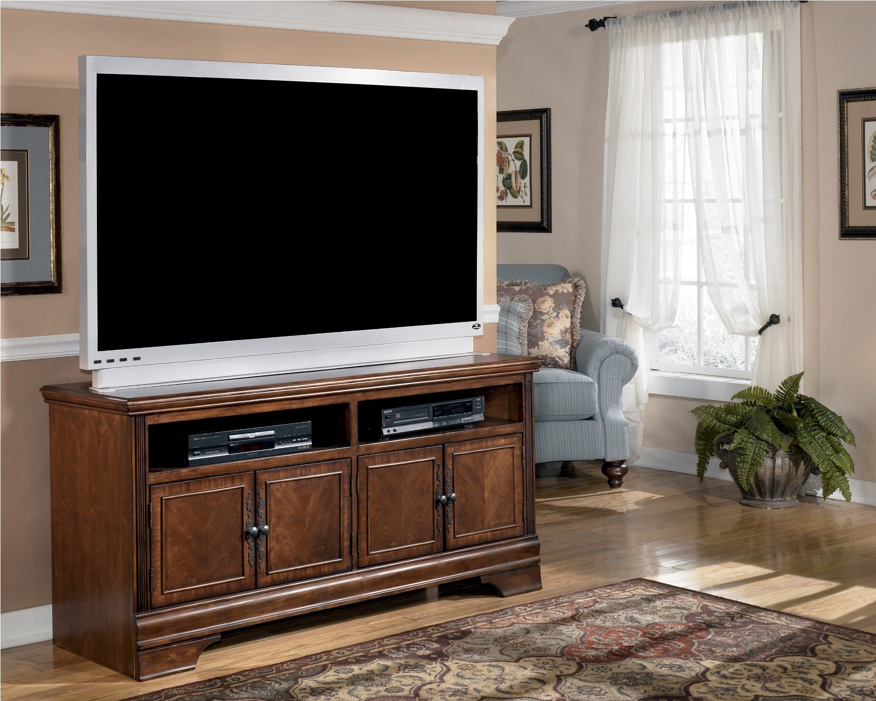 Hamlyn 60 Inch TV Stand From Ashley (W527-38)