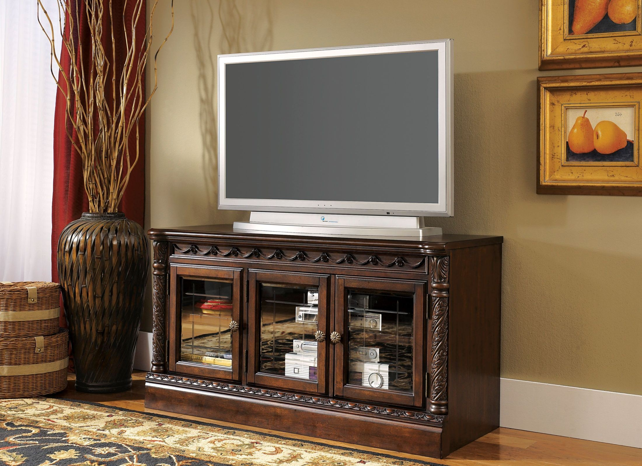 North Shore Entertainment Wall Unit From Ashley W553 31