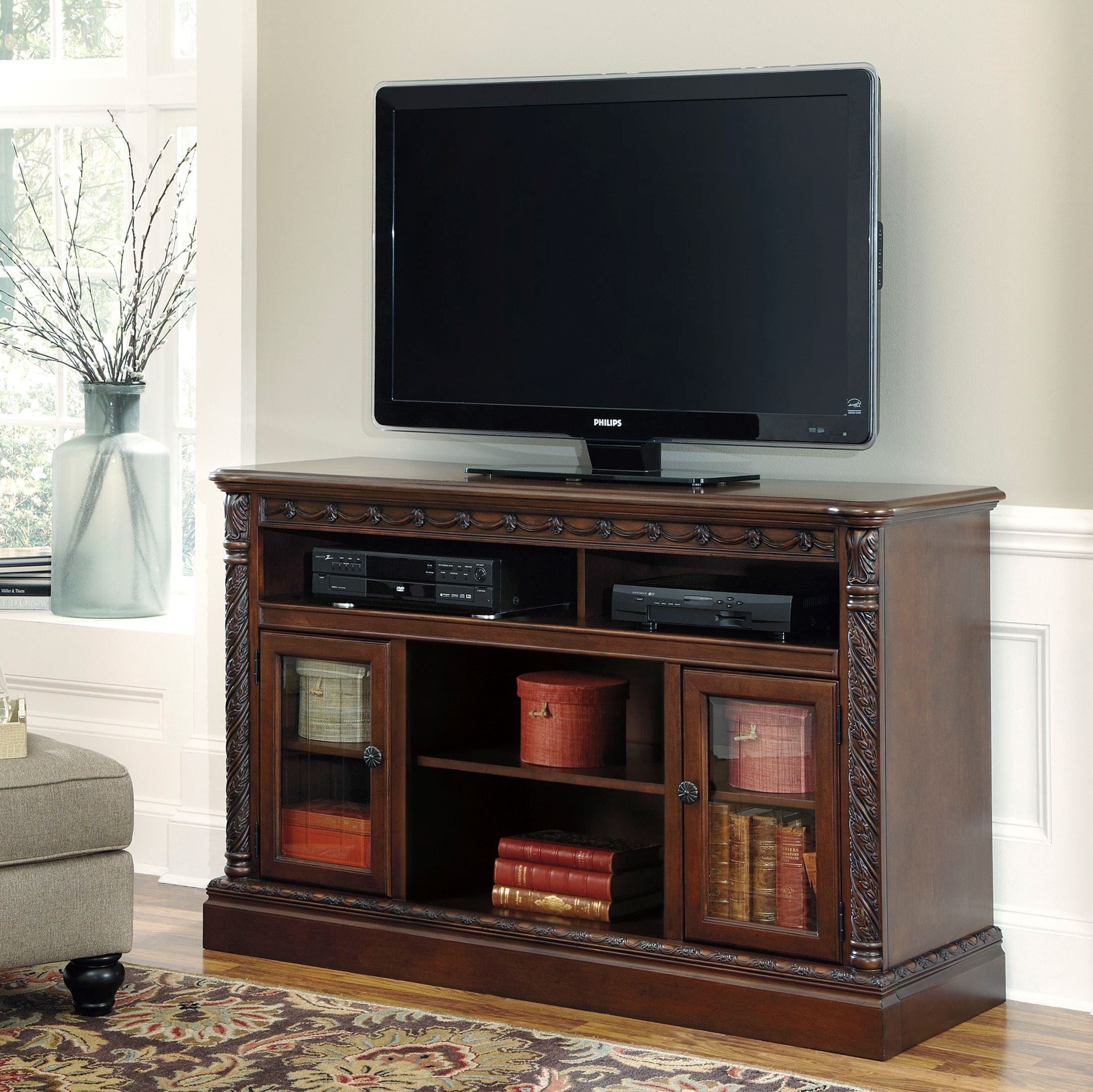 North Shore Lg Tv Stand From Ashley W553 68 Coleman