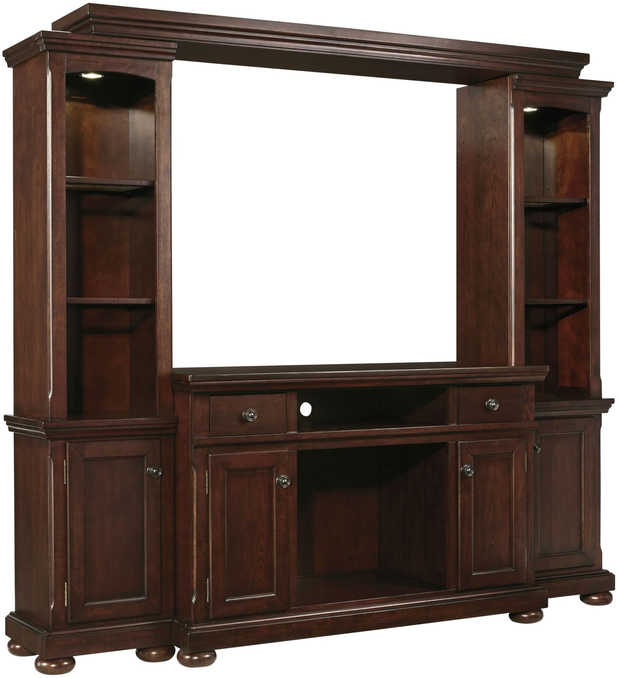 Porter Entertainment Wall Unit From Ashley (W697-120-23-24