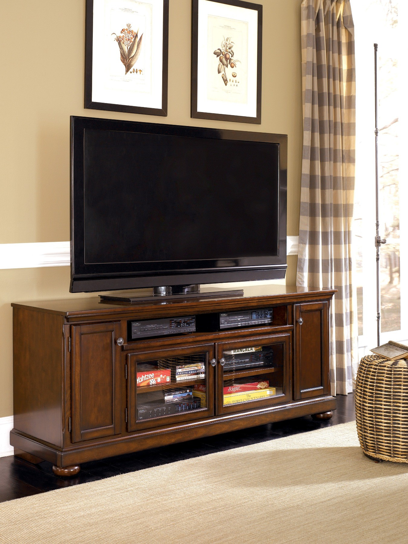 Porter Extra Large Tv Stand From Ashley W697 58