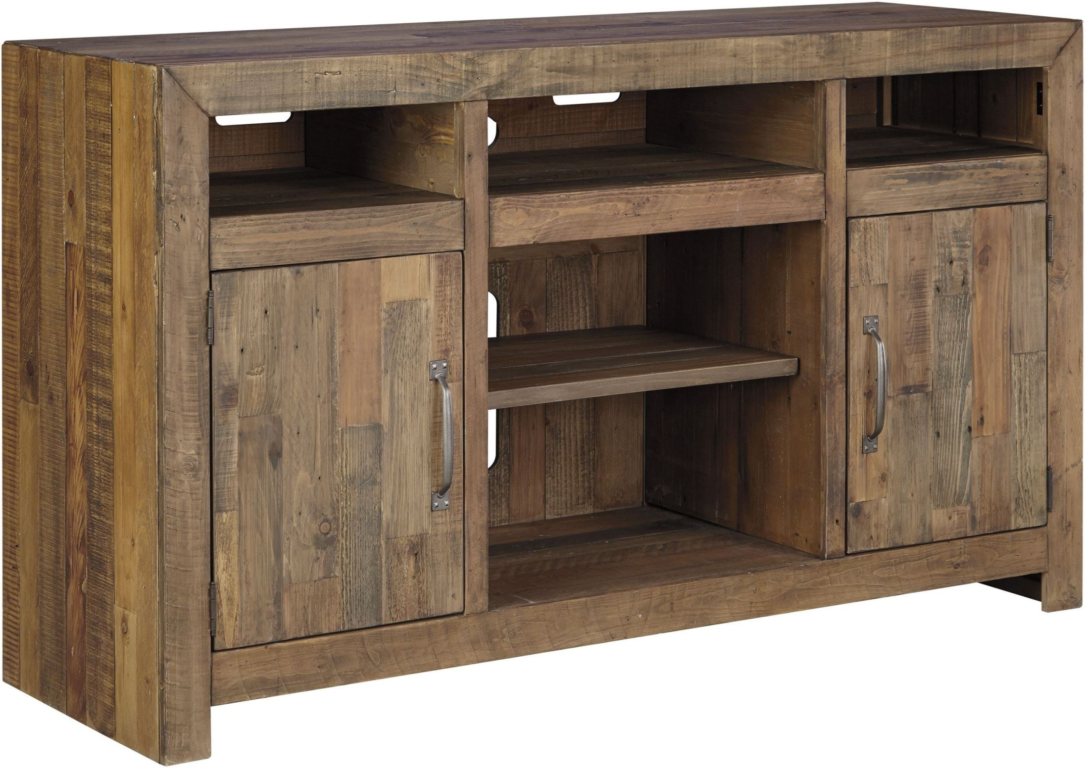 Sommerford Brown TV Stand from Ashley | Coleman Furniture