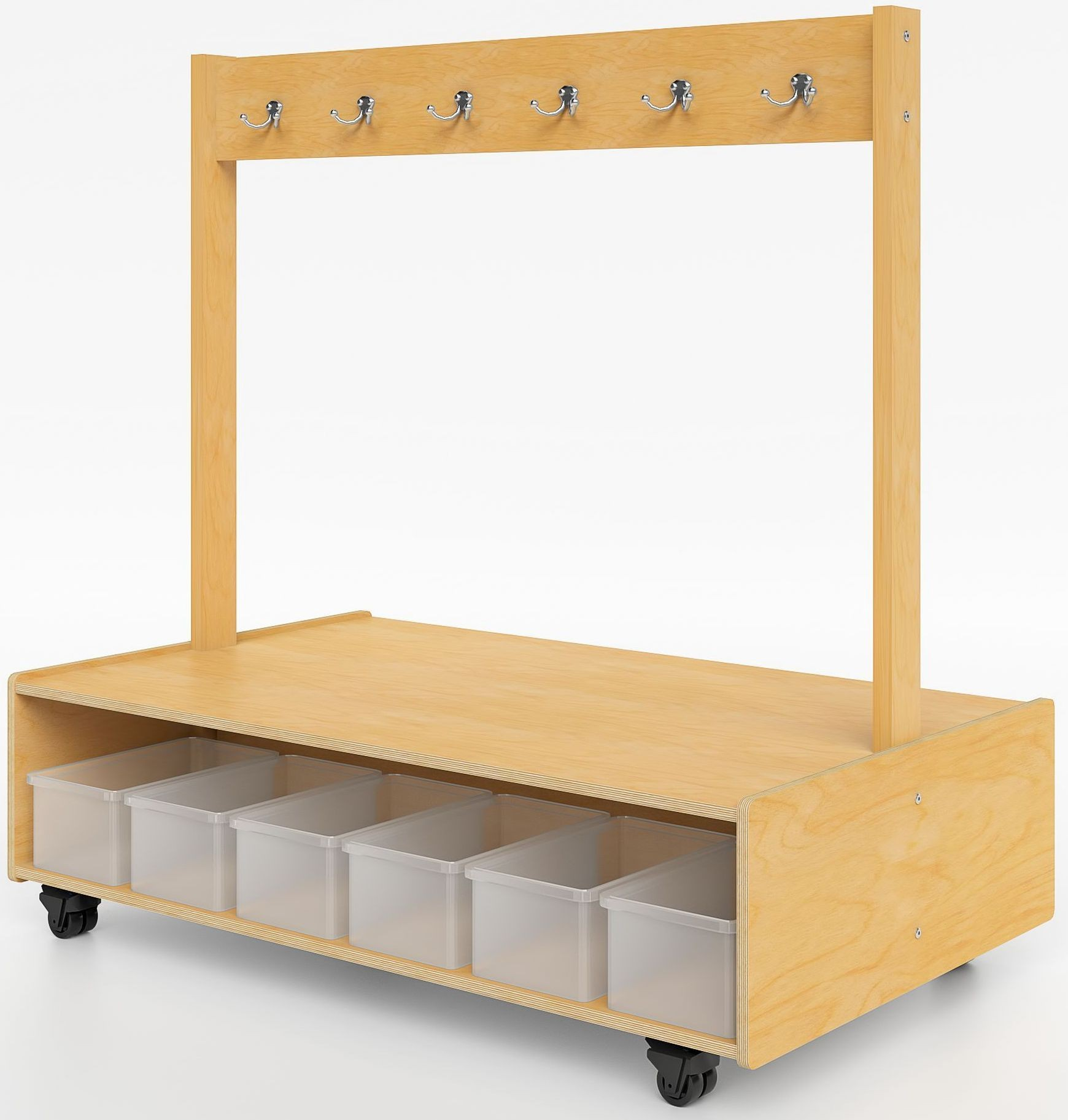 Mobile Island Coat Bench From Whitney Brothers Coleman