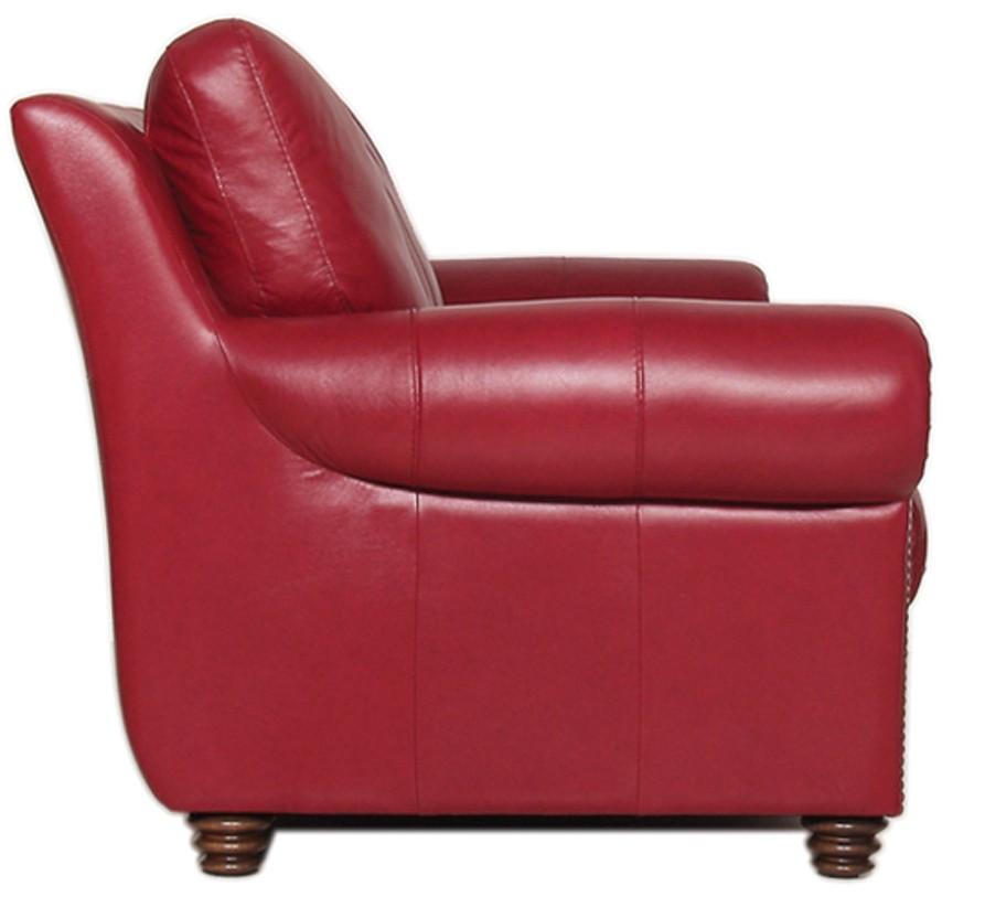 Weston Italian Leather Living Room Set From Luke Leather