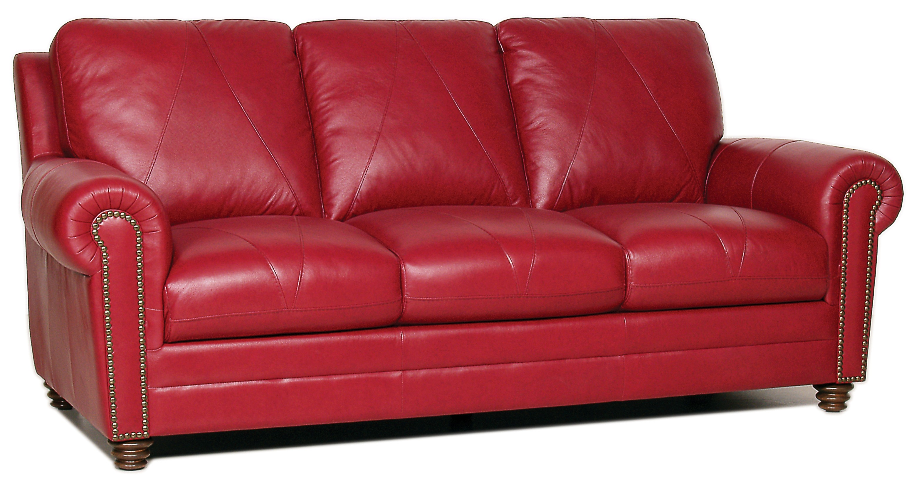 Weston italian leather sofa from luke leather coleman for Italian leather sofa