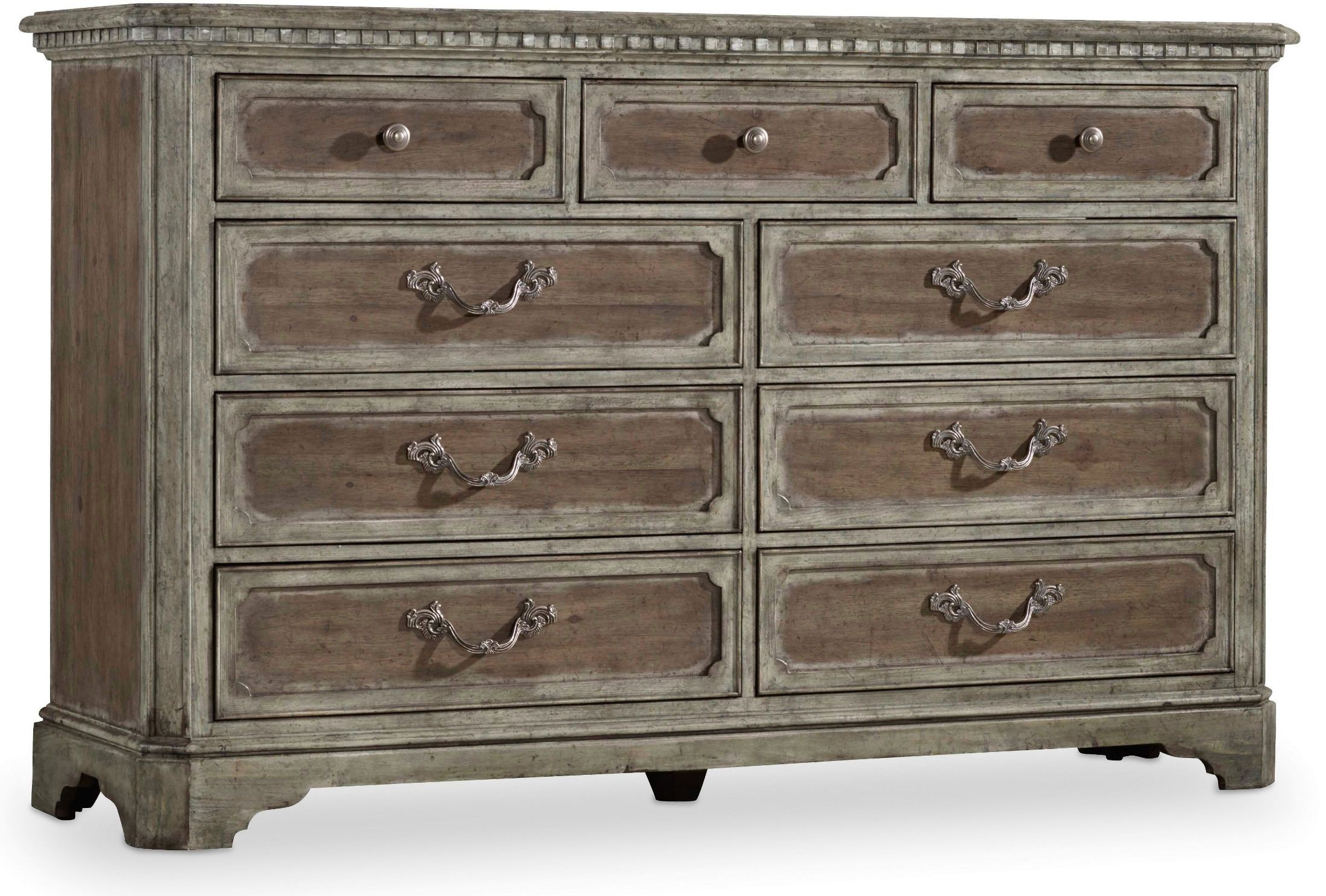 True Vintage Brown Dresser From Hooker Coleman Furniture