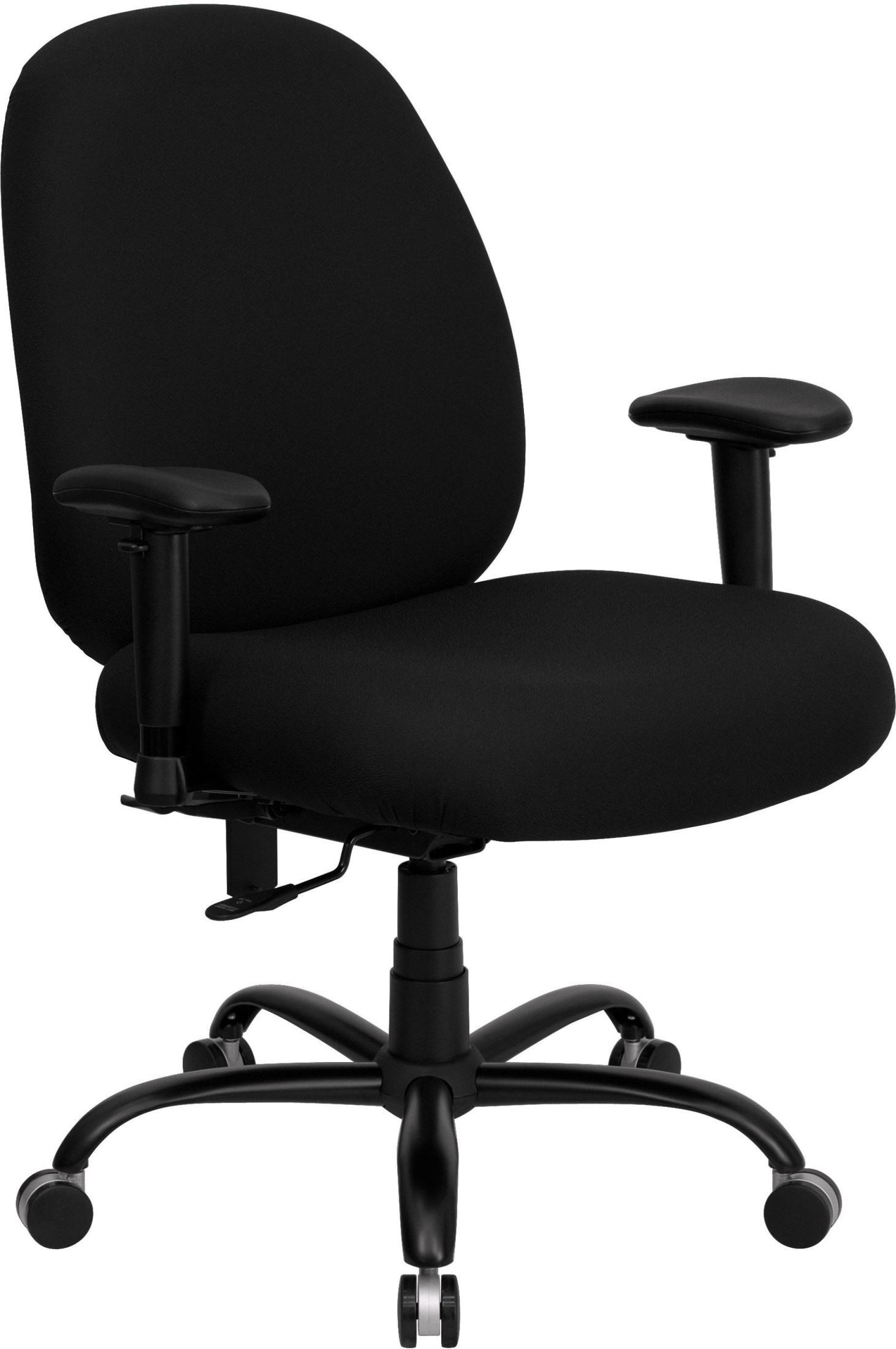 Hercules 500 Lb. Capacity Big And Tall Black Office Chair ...