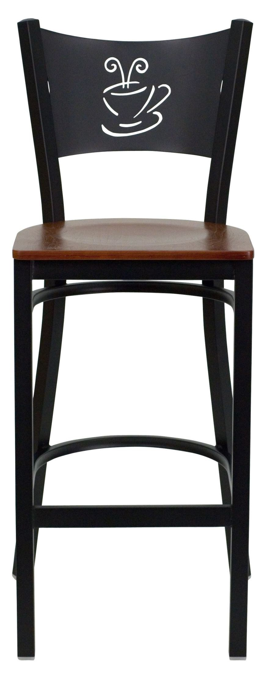 Hercules Series Black Coffee Metal Cherry Wood Restaurant  : xu dg 60114 cof bar chyw gginset3 from colemanfurniture.com size 884 x 2200 jpeg 180kB