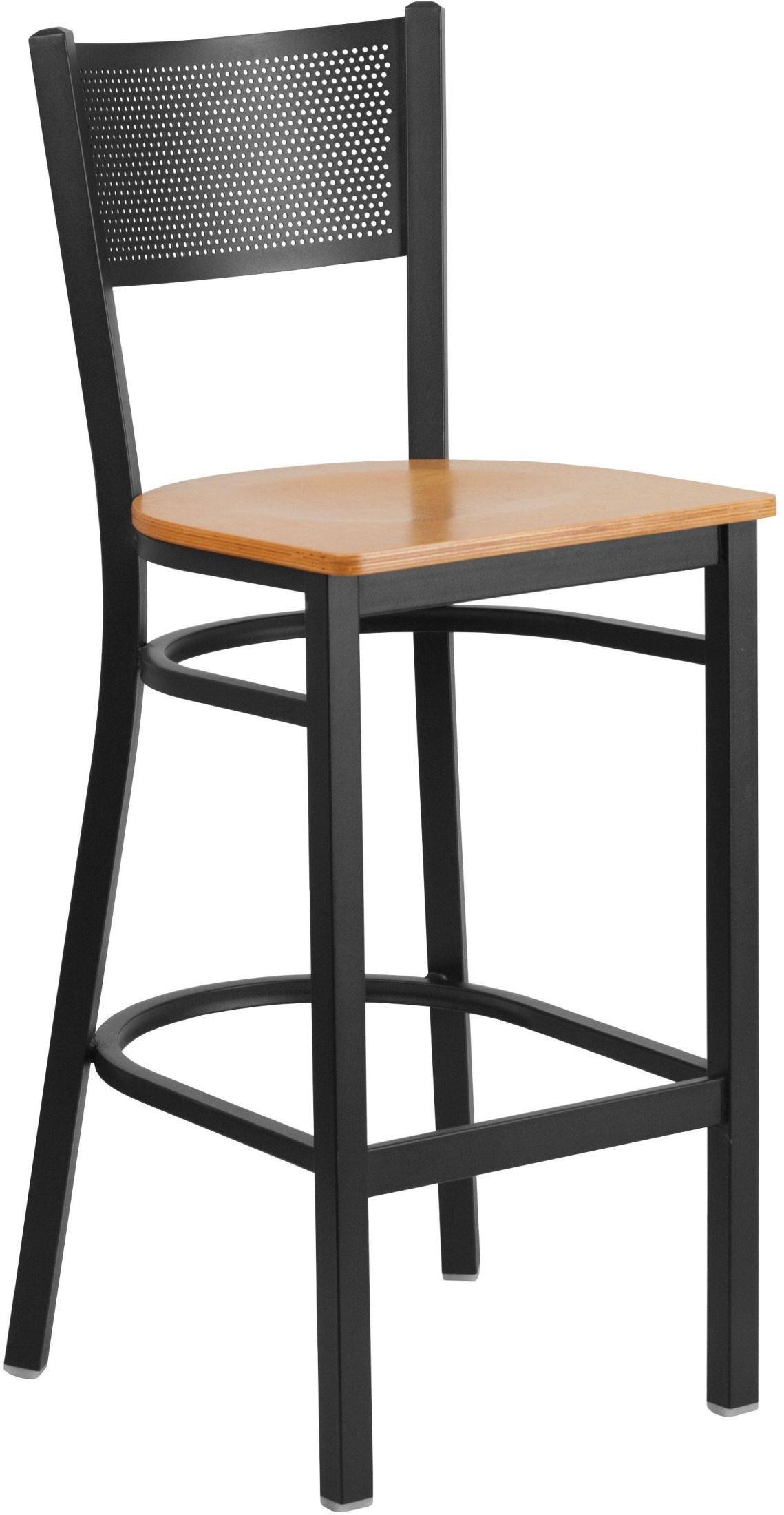 HERCULES Series Black Grid Back Natural Wood Seat  : xu dg 60116 grd bar natw gg from colemanfurniture.com size 1139 x 2200 jpeg 219kB